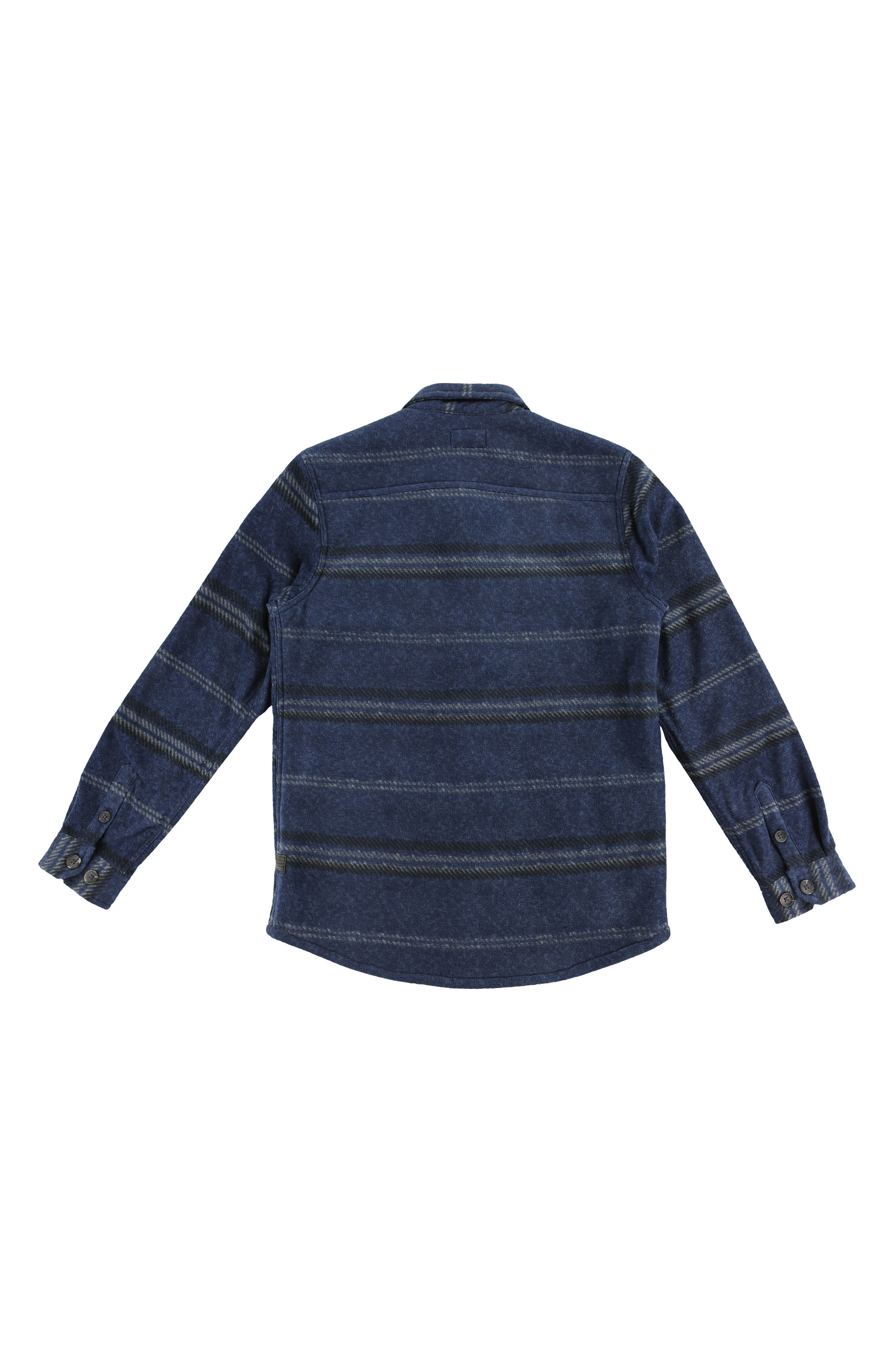 Glacier Shirt Jacket,                             Alternate thumbnail 2, color,                             NAVY HEATHER