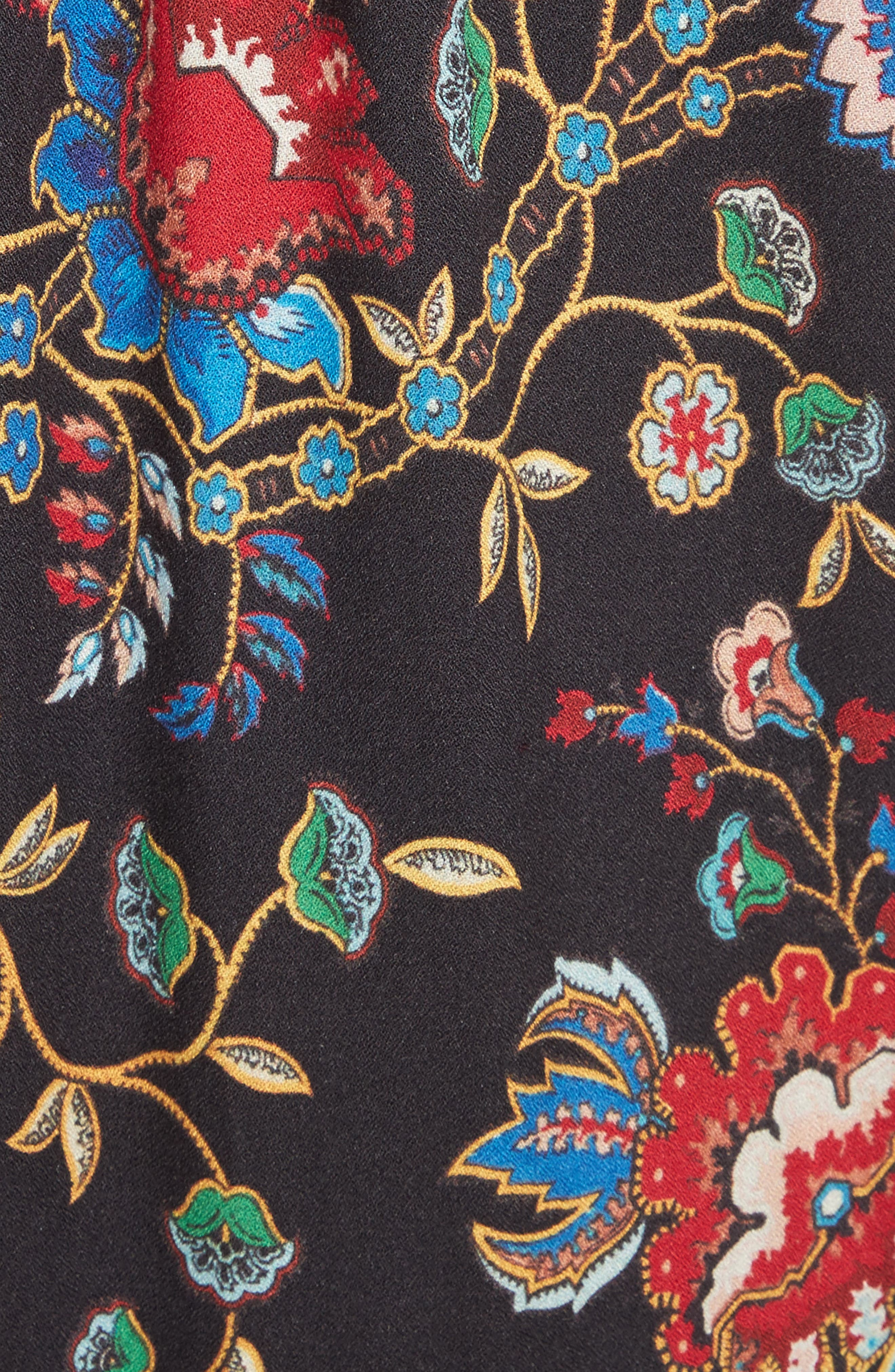 Lakita Tiered Tunic Dress,                             Alternate thumbnail 5, color,                             006