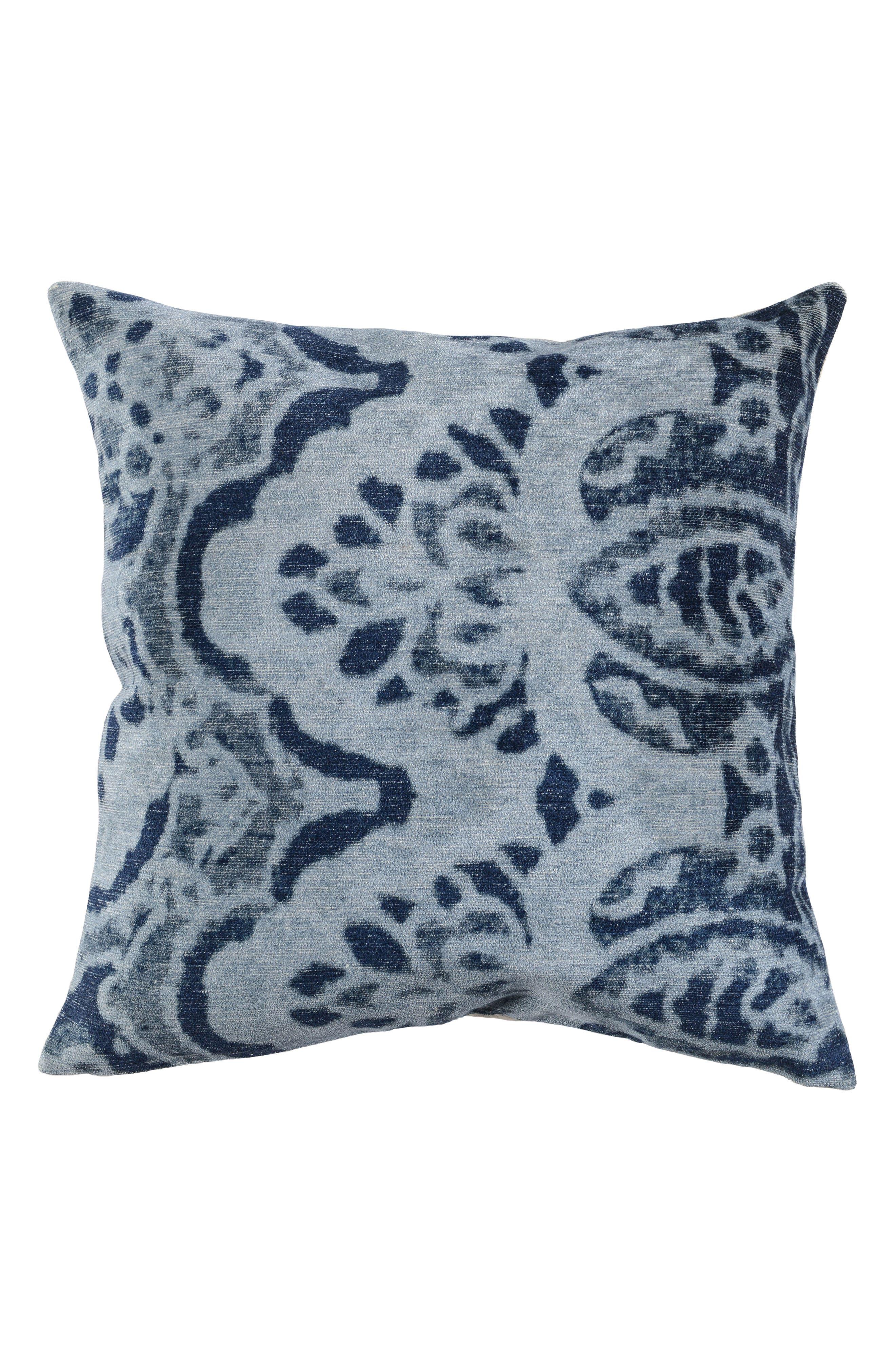 Luna Velvet Accent Pillow,                         Main,                         color, 400