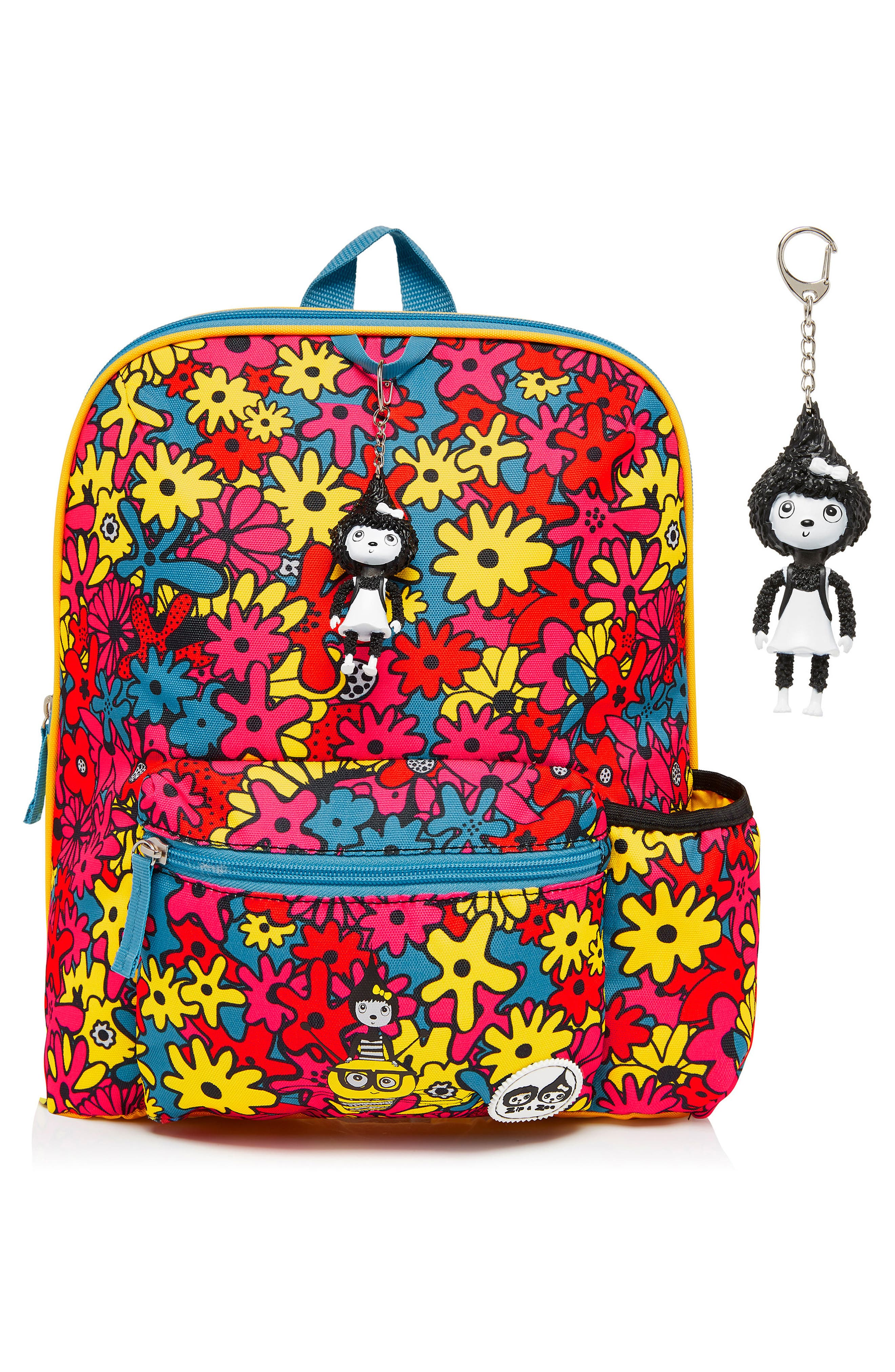 Print Backpack,                             Alternate thumbnail 11, color,                             FLORAL BRIGHTS