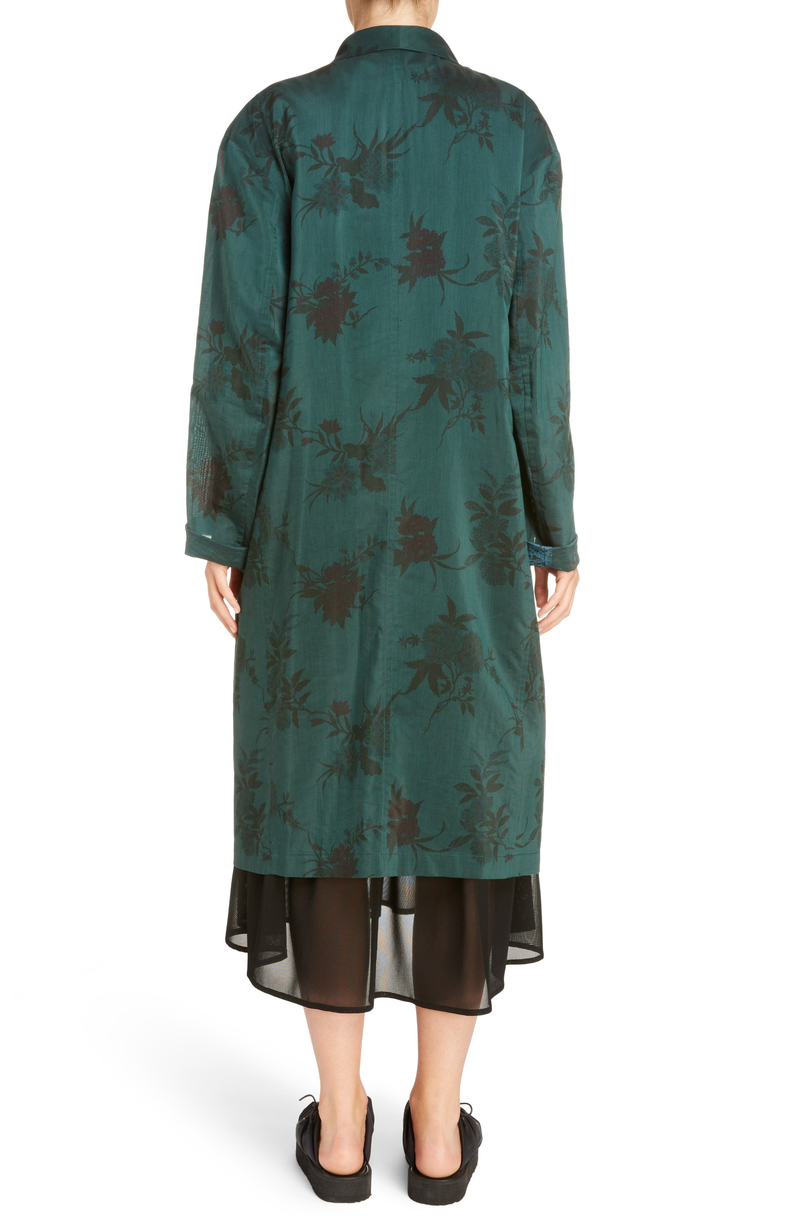 Floral Coat,                         Main,                         color, 300