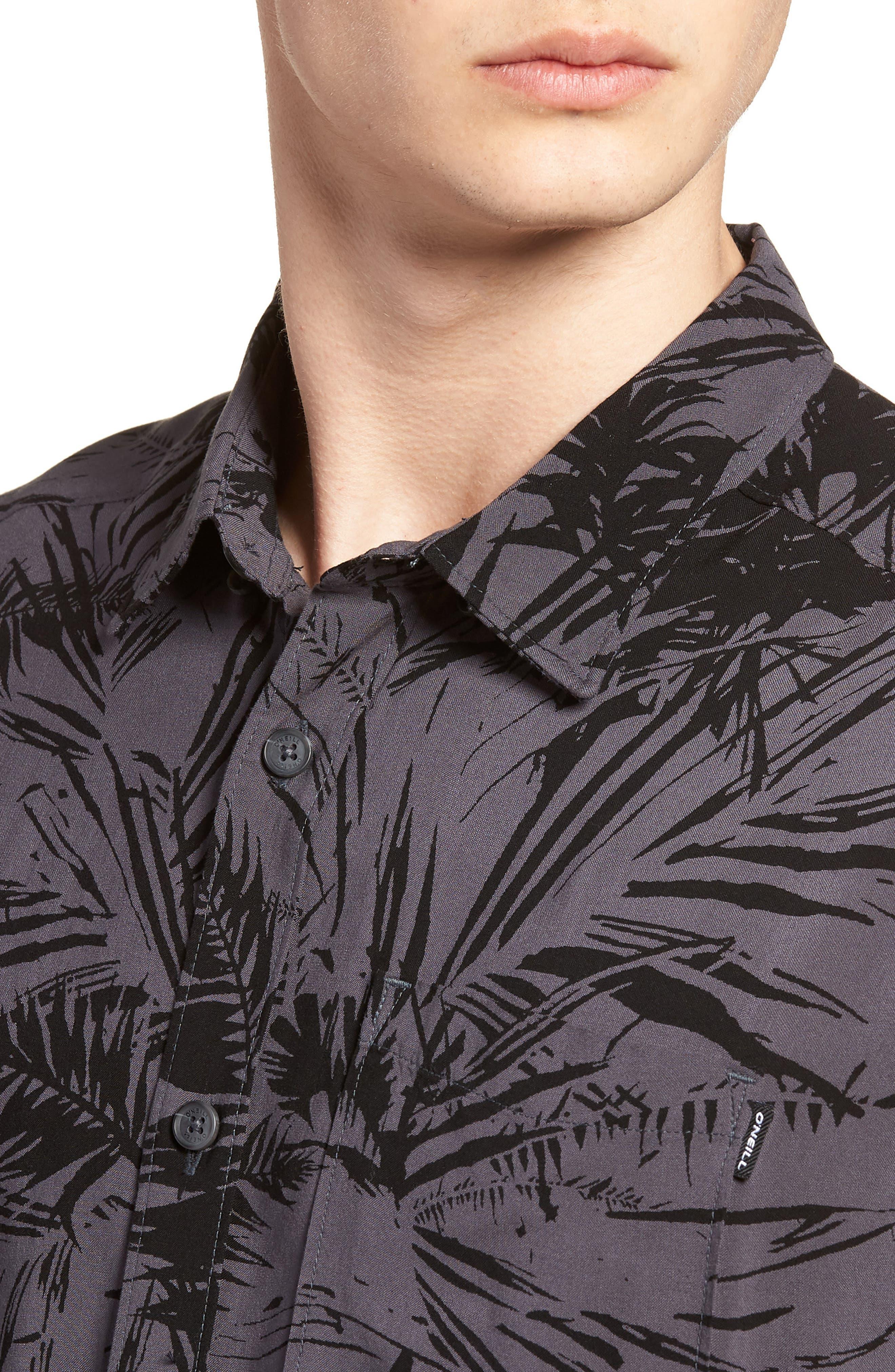 Ascher Woven Shirt,                             Alternate thumbnail 4, color,                             020
