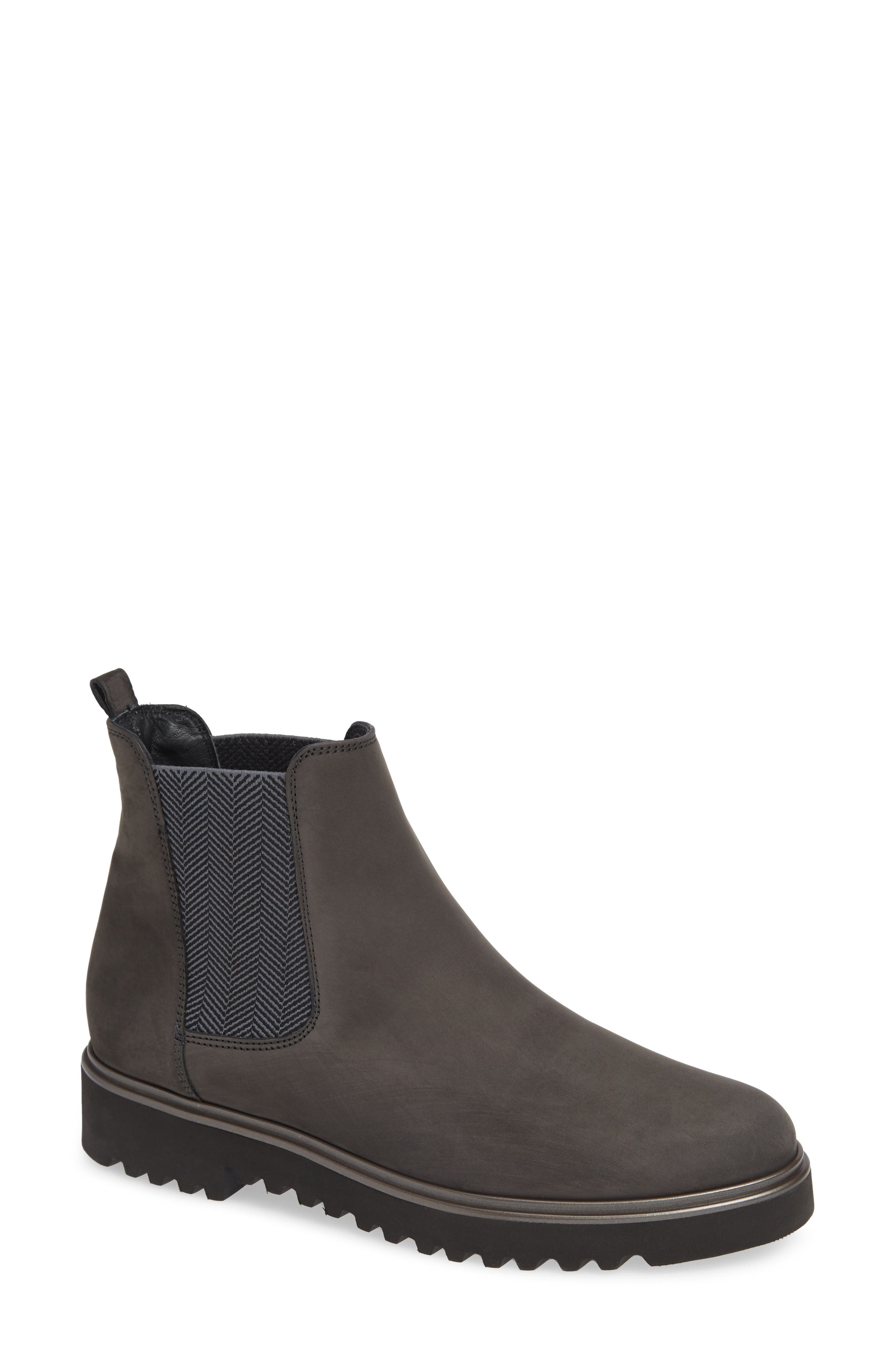 Paul Green Vienna Lugged Chelsea Bootie - Grey