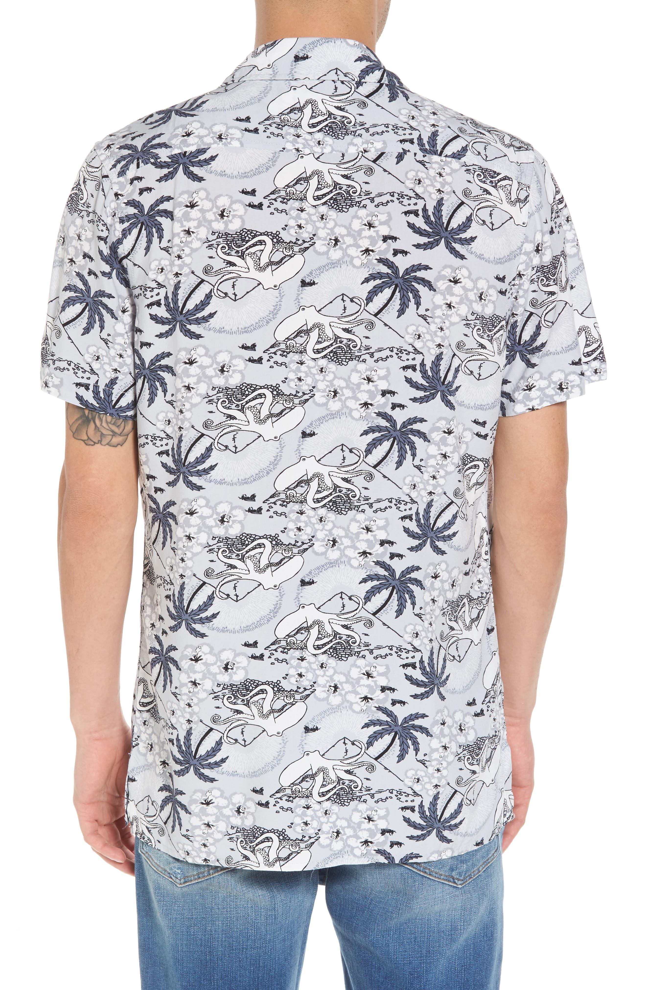 Camp Collar Shirt,                             Alternate thumbnail 2, color,                             030