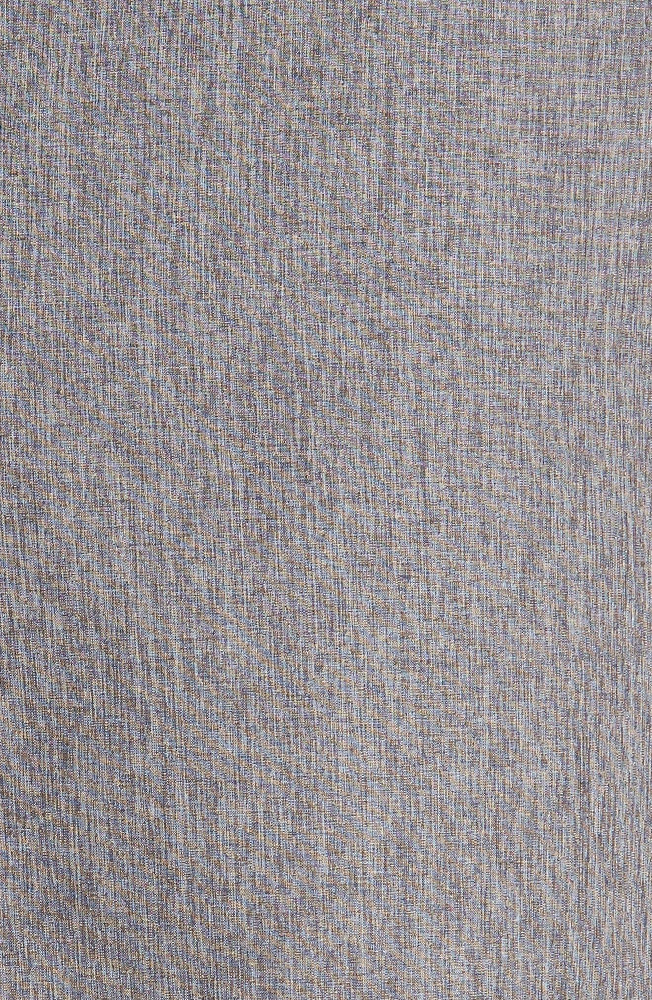 'Palladium' Performance Stretch Heathered Golf Shorts,                             Alternate thumbnail 5, color,                             021