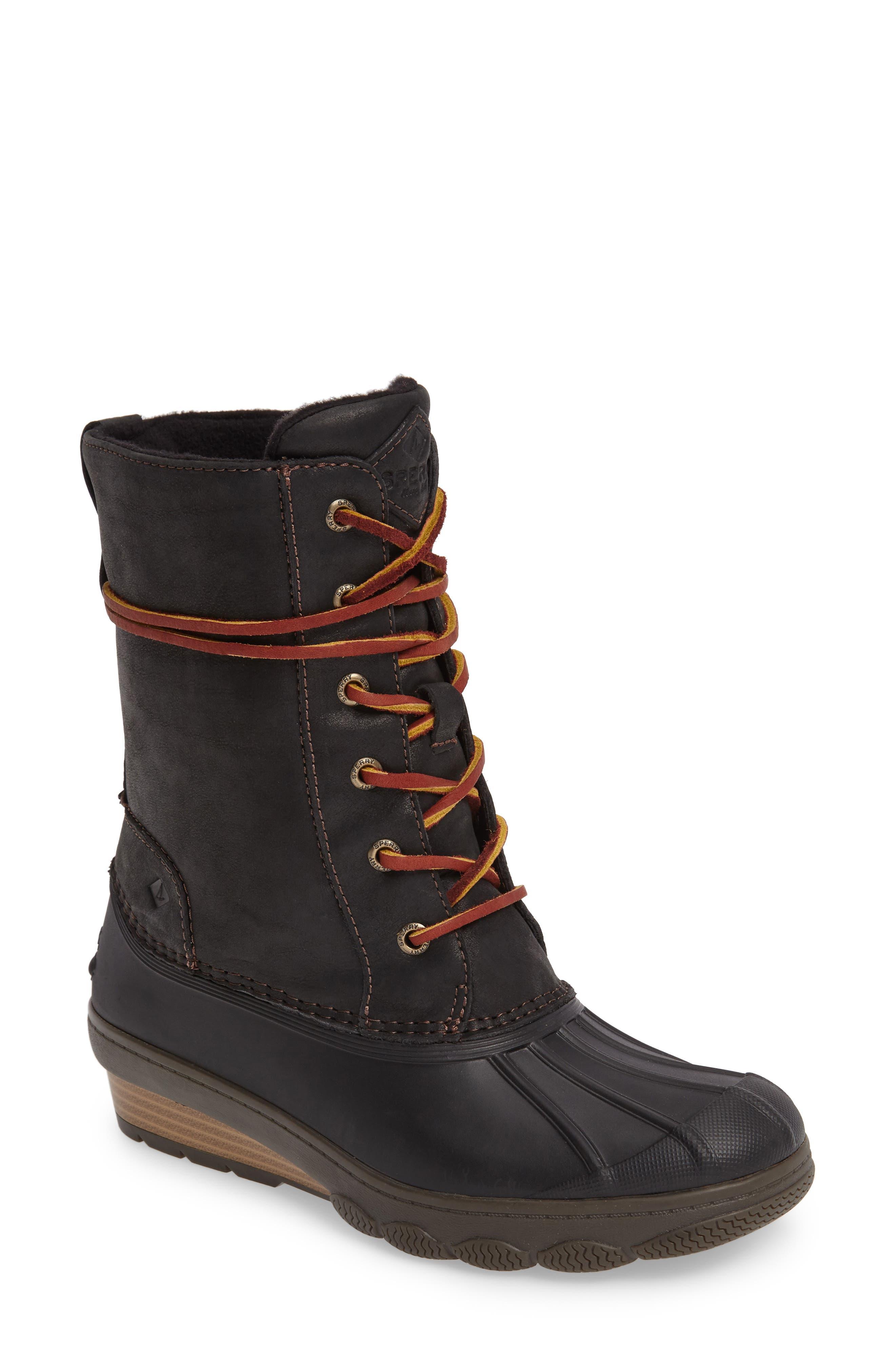 Saltwater Wedge Reeve Waterproof Boot,                         Main,                         color, 001