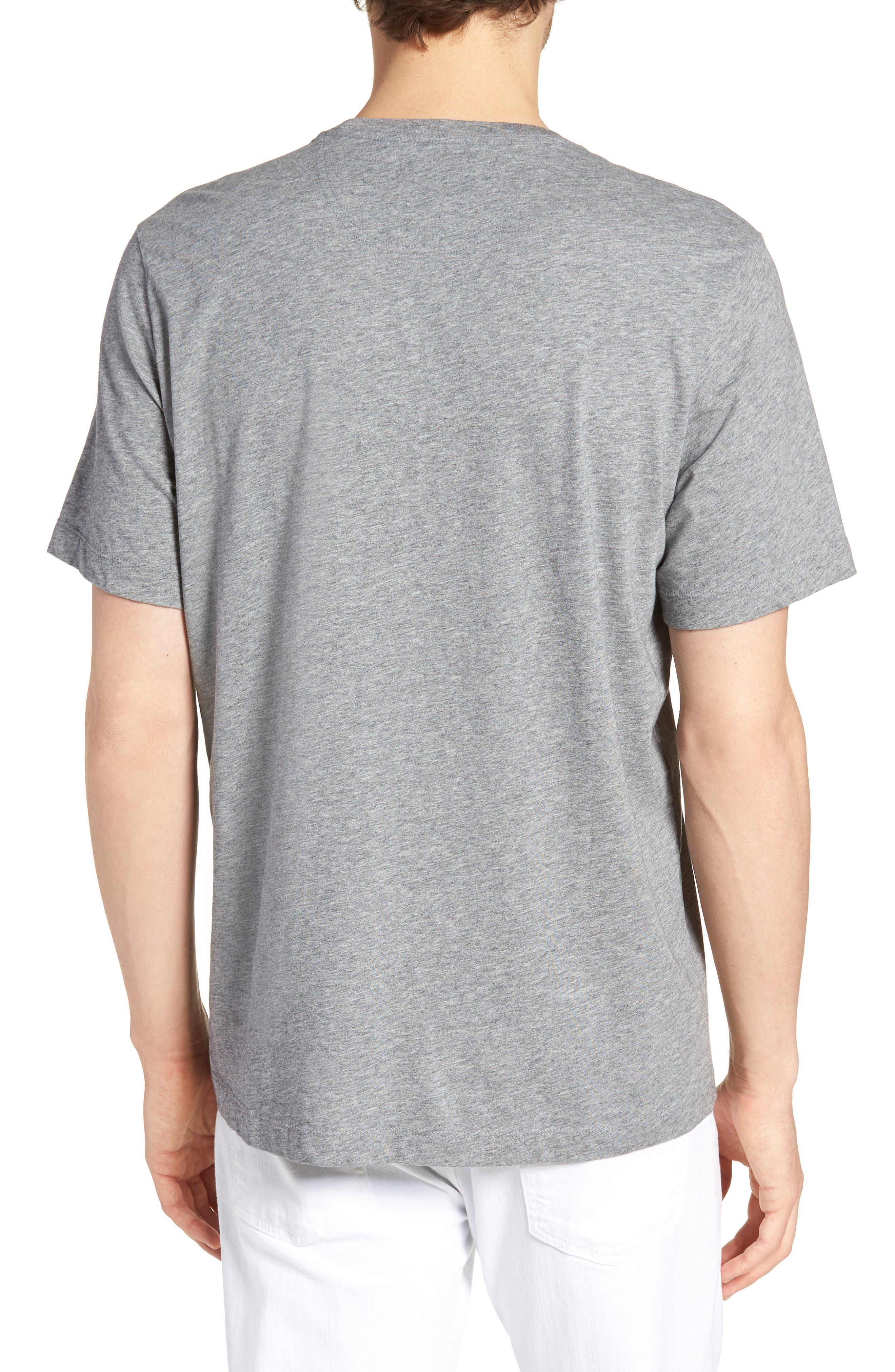 Brushed Pima Cotton T-Shirt,                             Alternate thumbnail 2, color,                             030