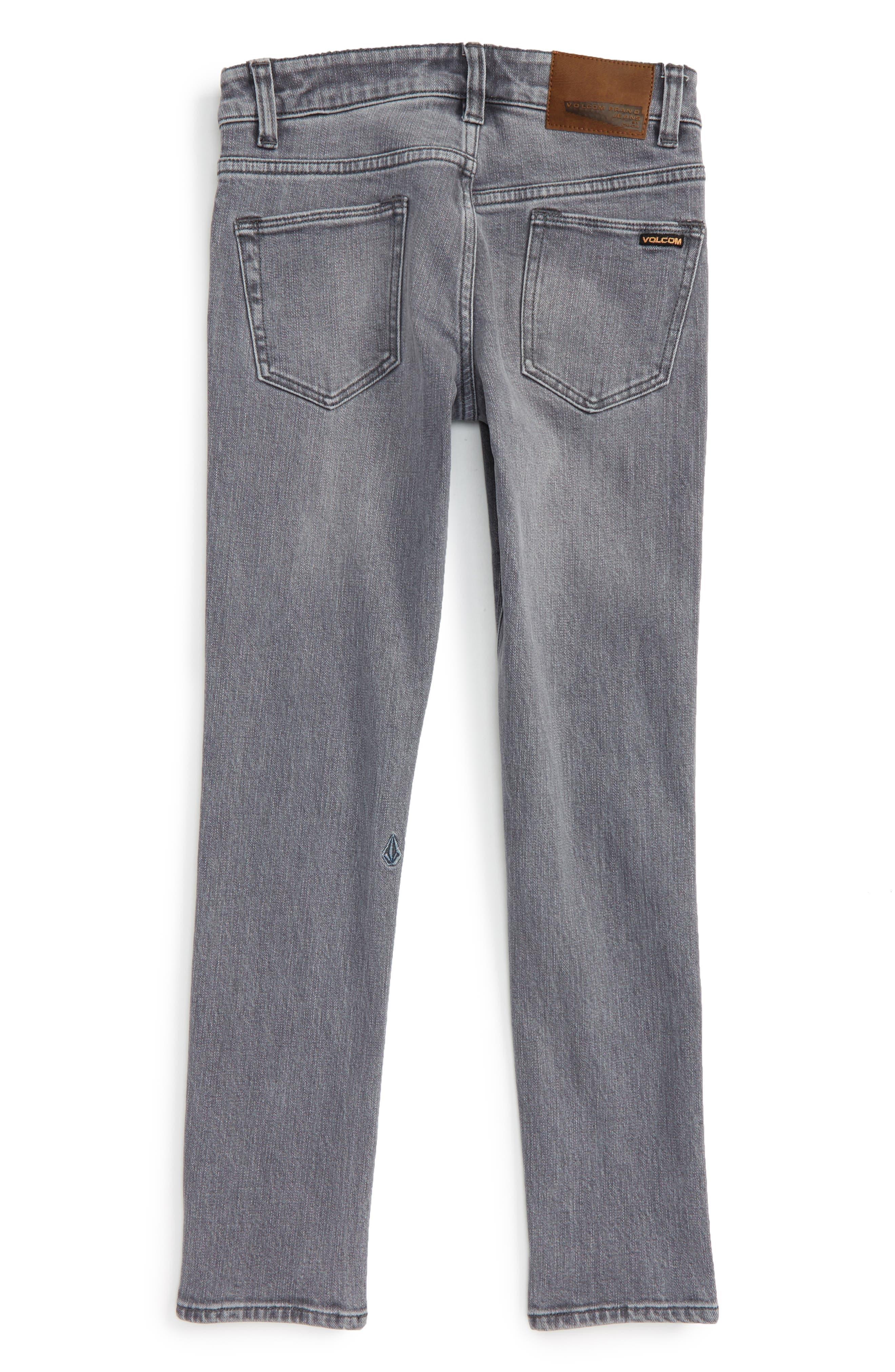 'Solver' Straight Leg Denim Jeans,                             Alternate thumbnail 17, color,