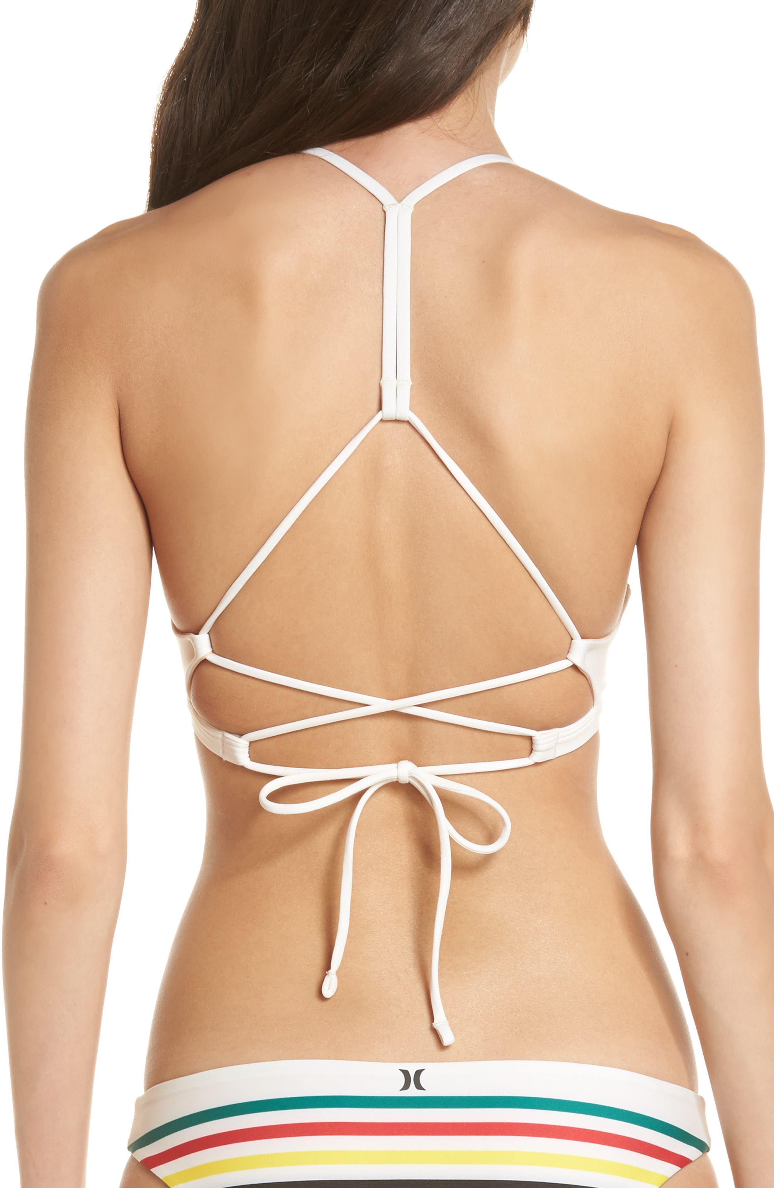 Quick Dry Pendleton Glacier Bikini Top,                             Alternate thumbnail 2, color,                             106