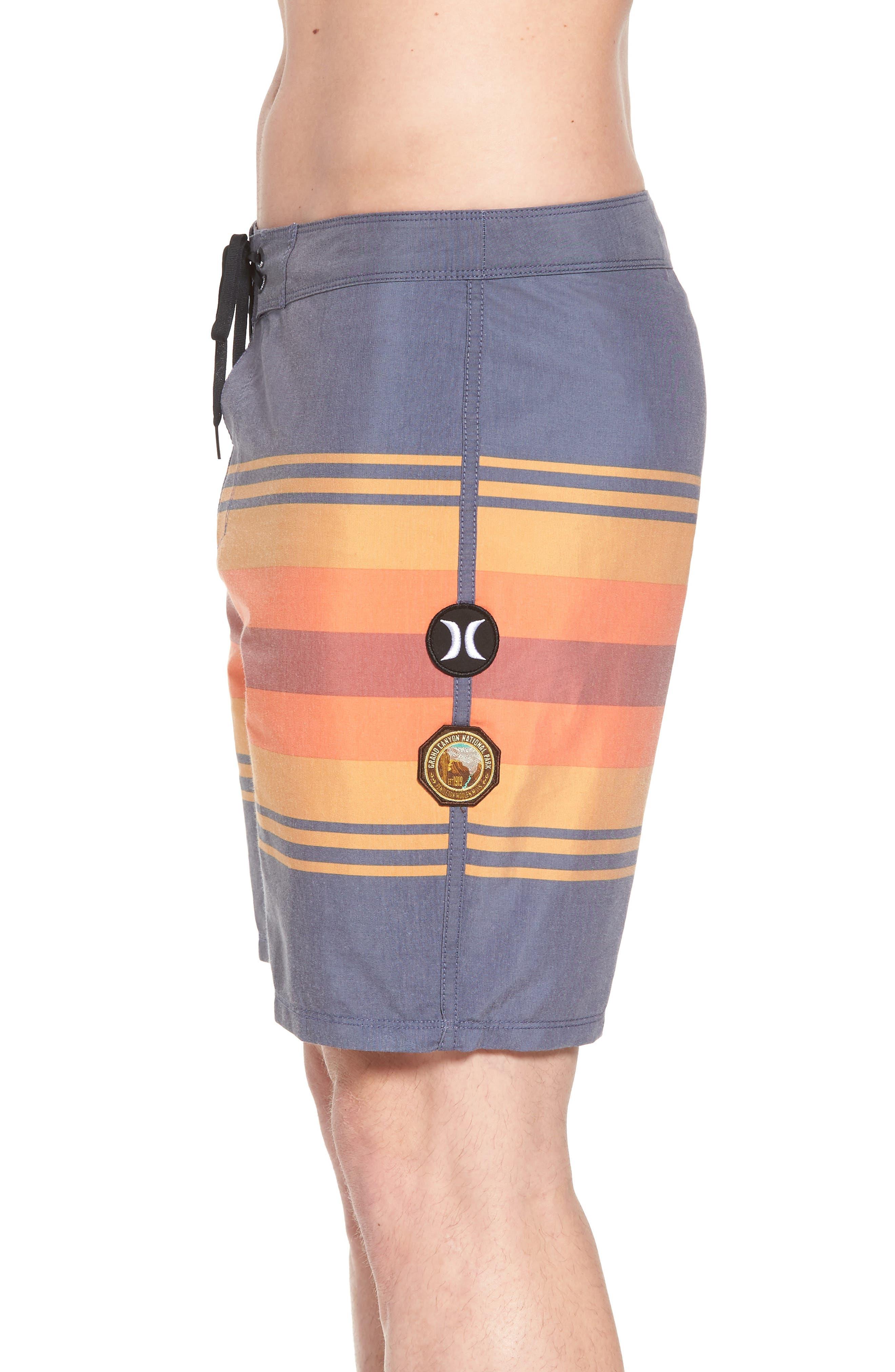 Pendleton Grand Canyon Beachside Board Shorts,                             Alternate thumbnail 4, color,