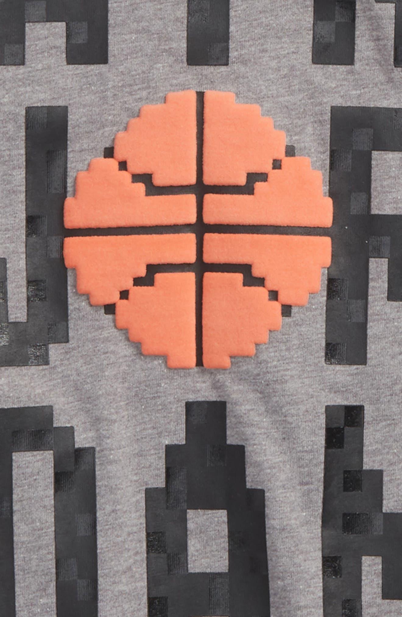 Jordan Pixel Pack Wordmark T-Shirt,                             Alternate thumbnail 2, color,                             020