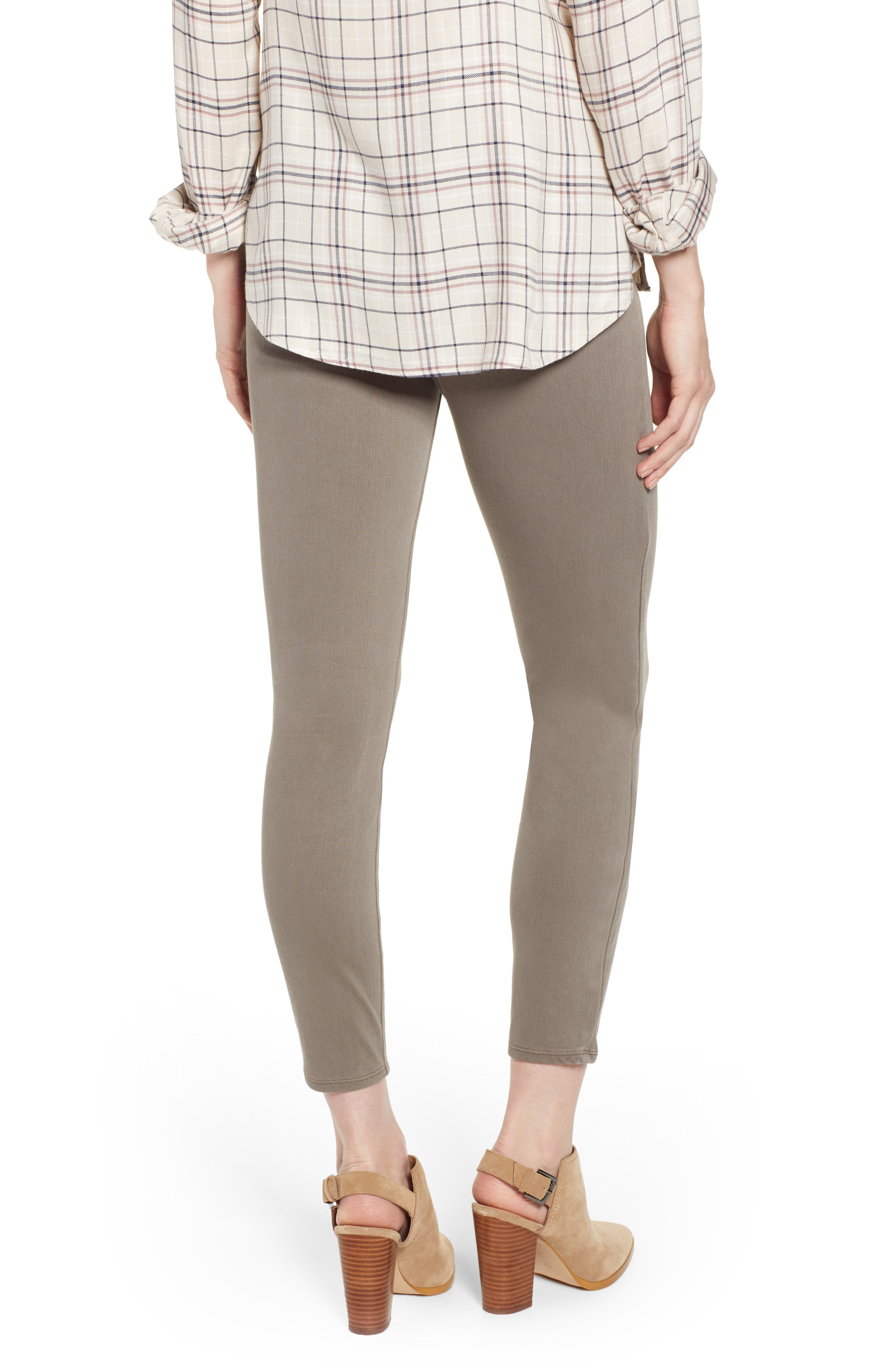 SPANX<SUP>®</SUP>,                             Jean-ish Leggings,                             Alternate thumbnail 2, color,                             EARTHY TAUPE
