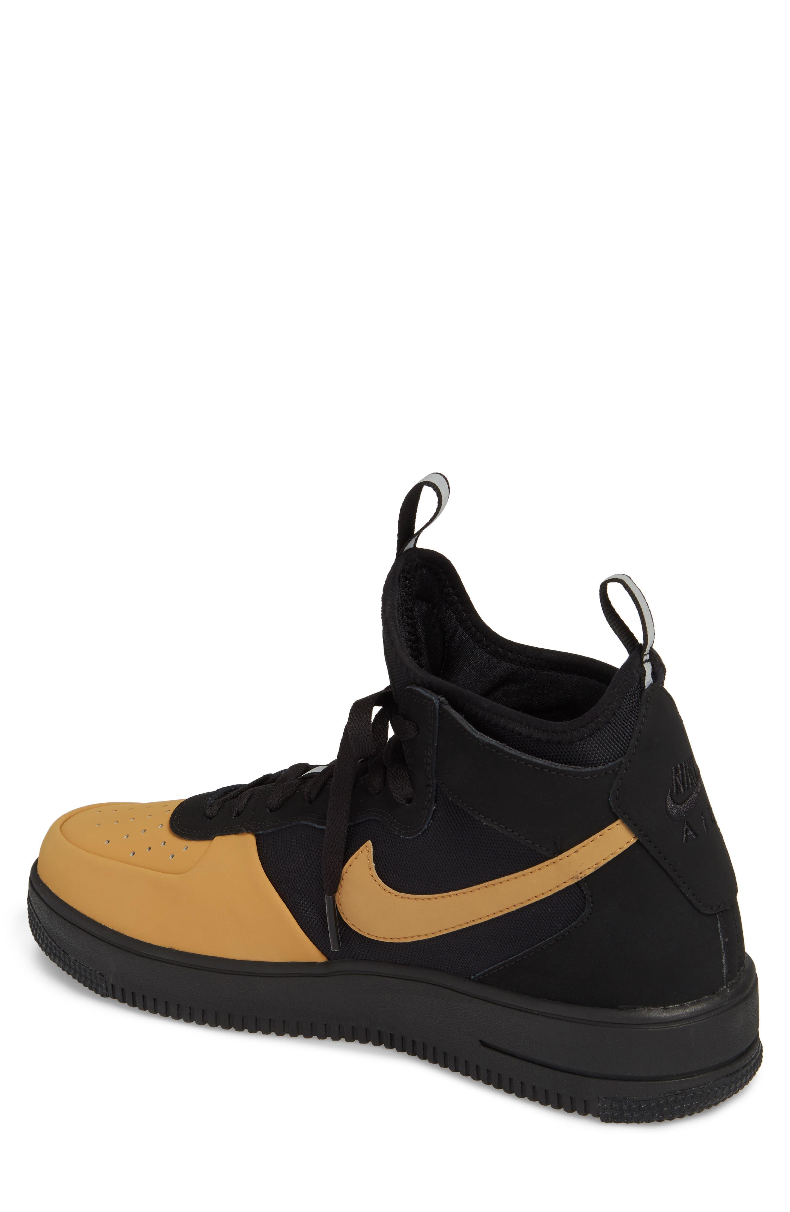 Air Force 1 Ultraforce Mid Tech Sneaker,                             Alternate thumbnail 2, color,                             002