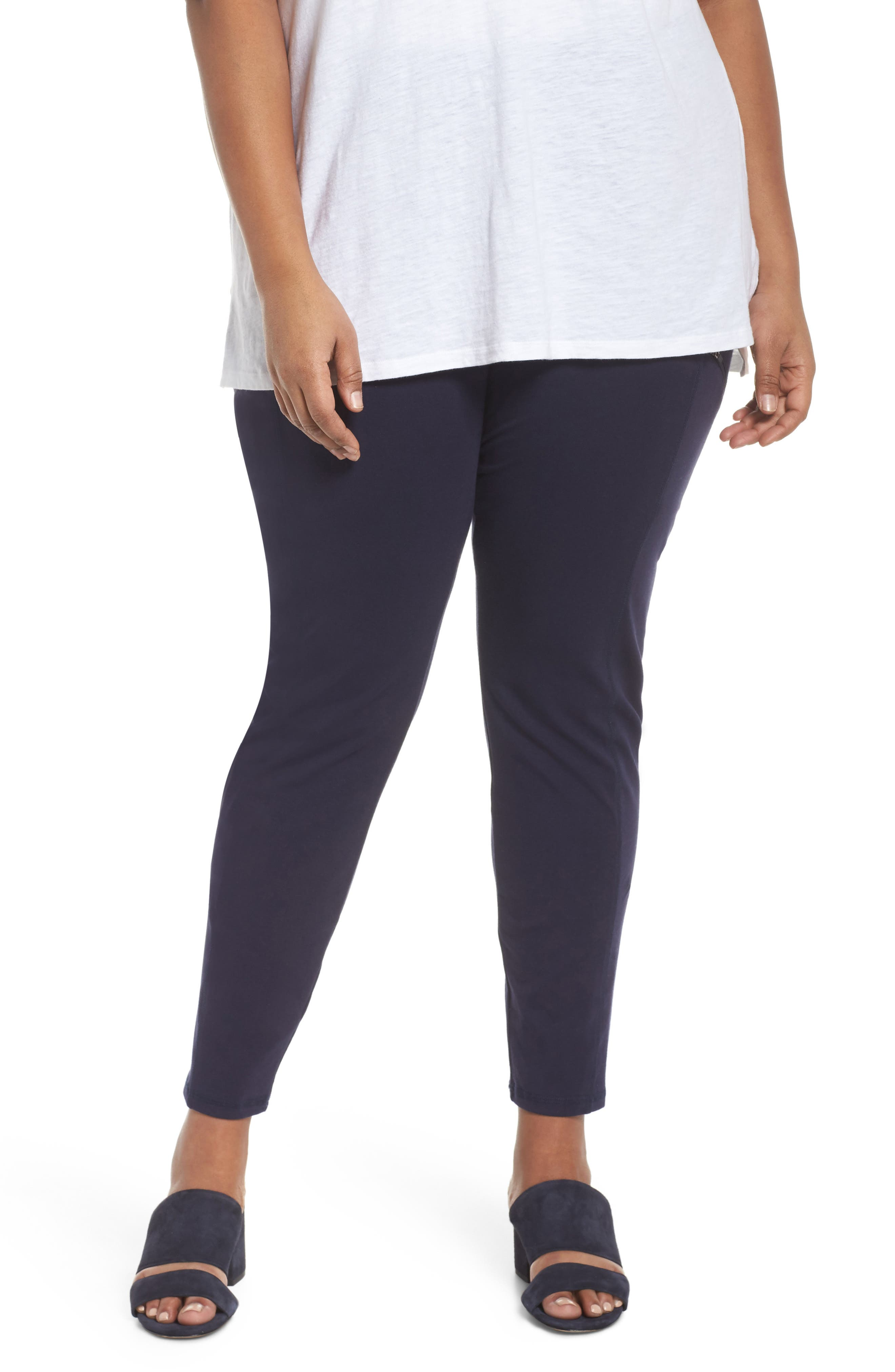Skinny Knit Pants,                         Main,                         color, 419
