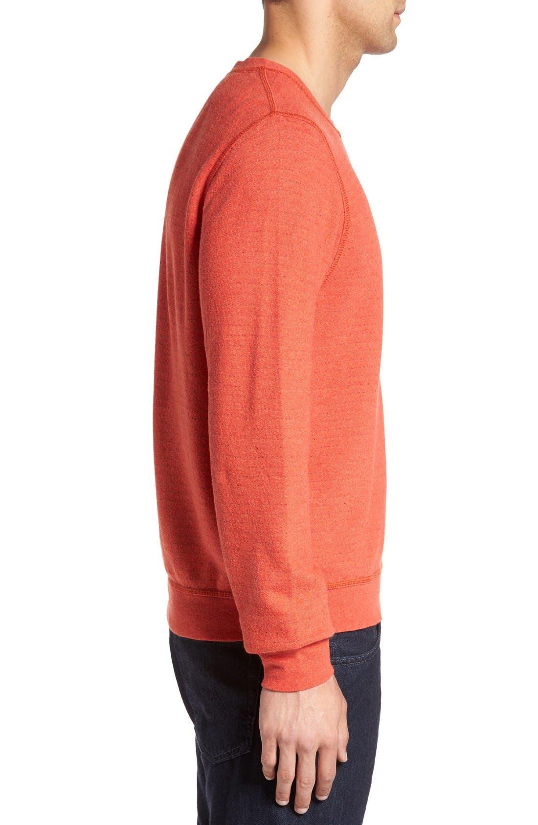 'Gleann' French Terry Crewneck Sweatshirt,                             Alternate thumbnail 6, color,