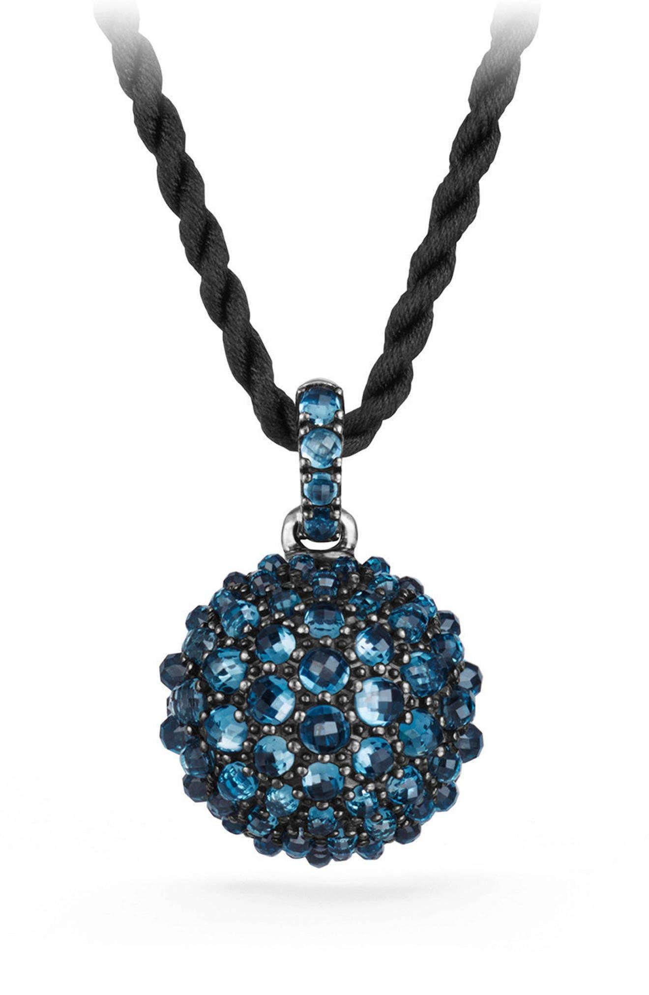 Cable Berries Pendant Necklace,                         Main,                         color, 040