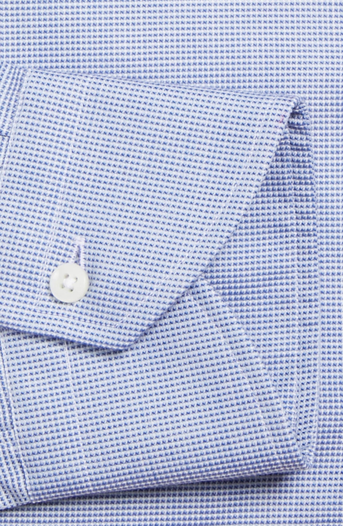 Regular Fit Solid Dress Shirt,                             Alternate thumbnail 6, color,                             401