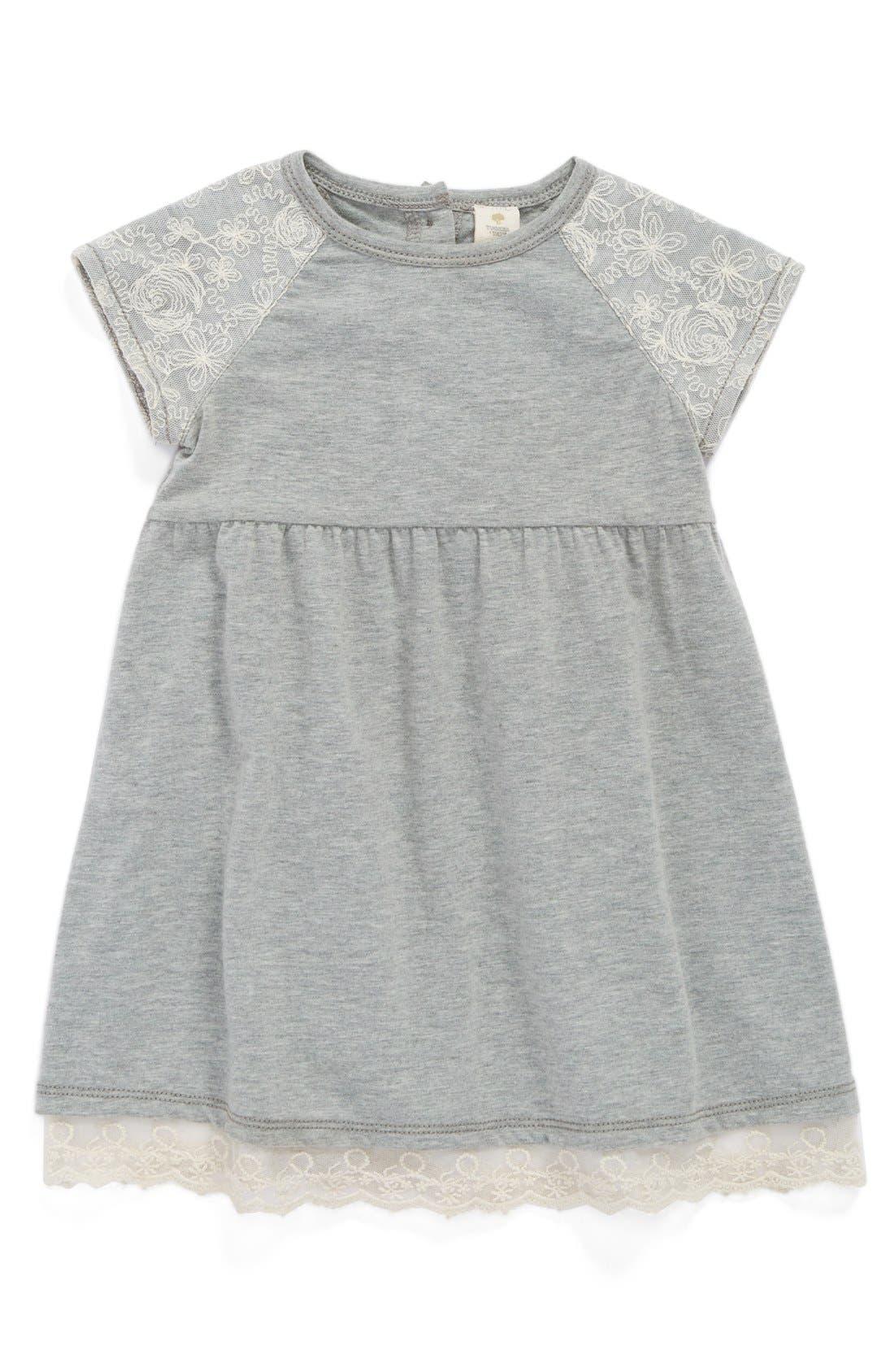 Jersey Dress,                             Main thumbnail 1, color,                             030