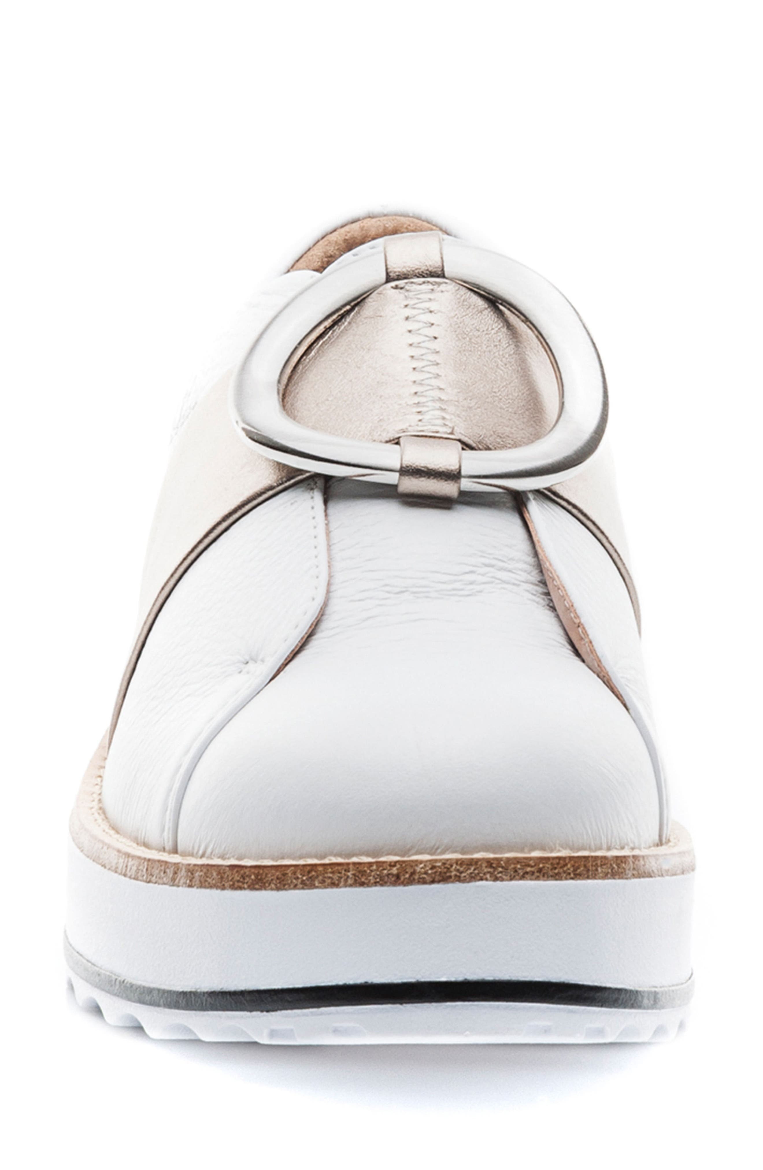 Susan Wedge Sneaker,                             Alternate thumbnail 4, color,                             100