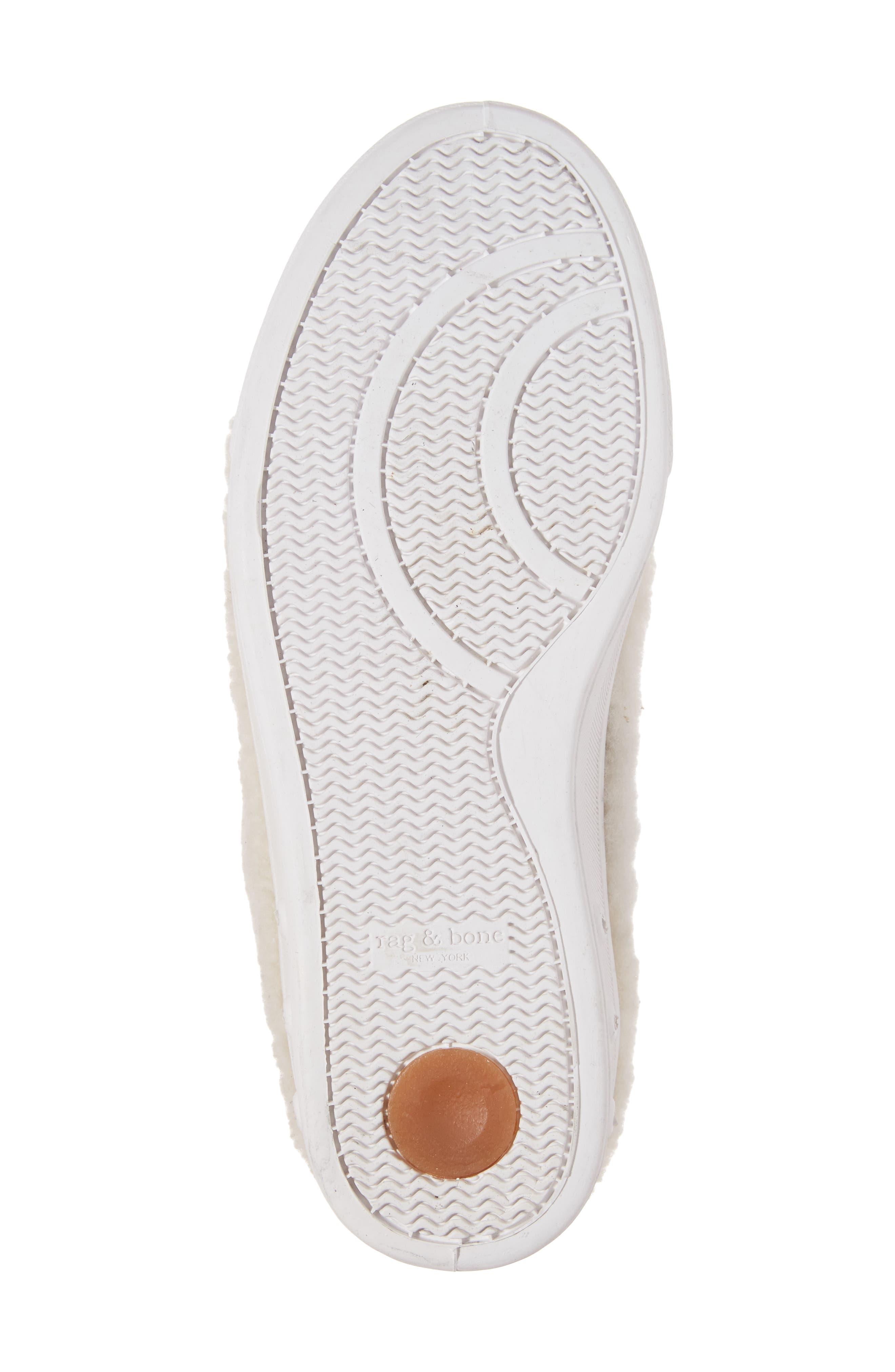 Standard Issue Genuine Shearling Sneaker,                             Alternate thumbnail 6, color,                             900