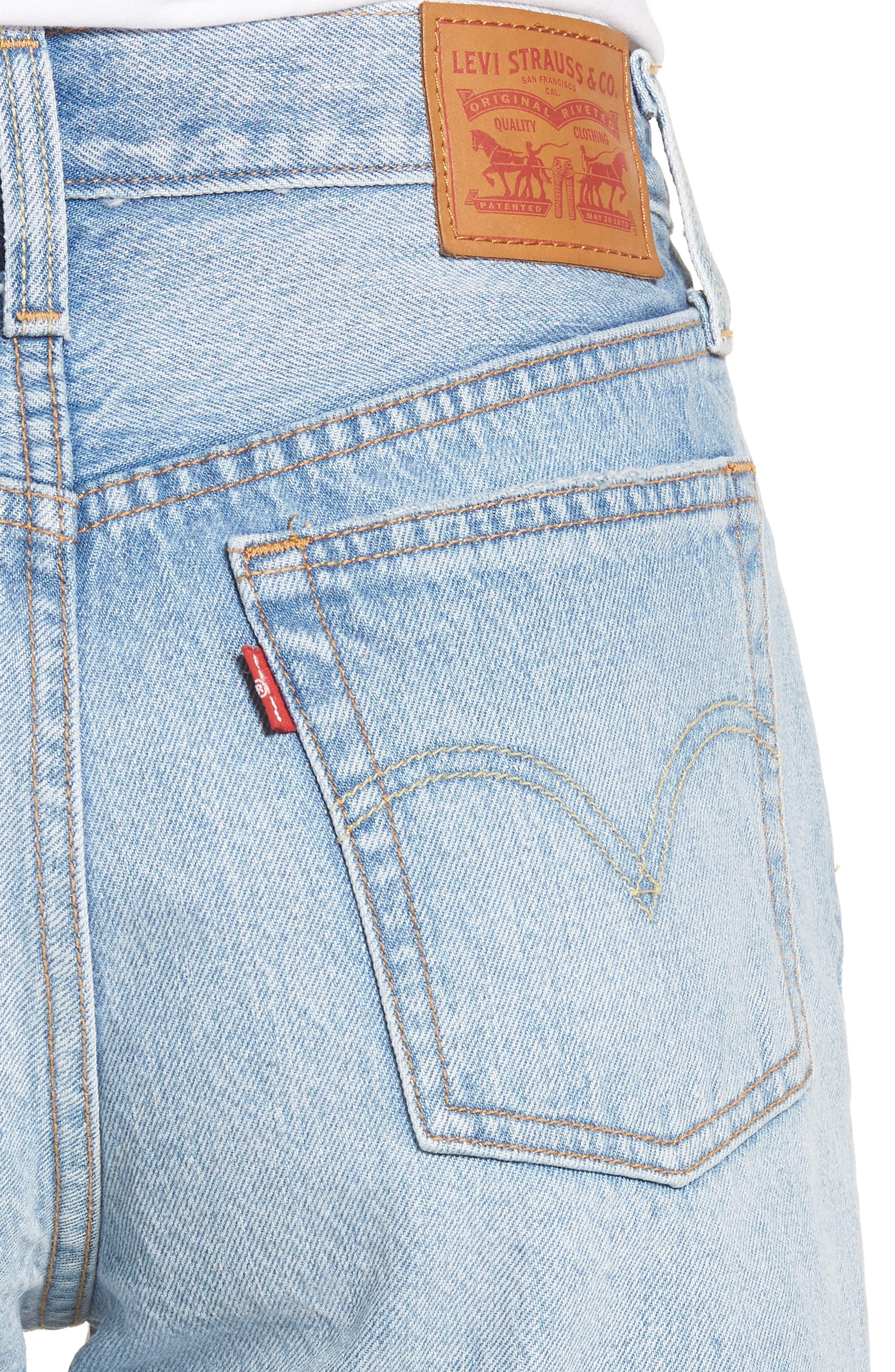Indie Shredded Shorts,                             Alternate thumbnail 4, color,                             420