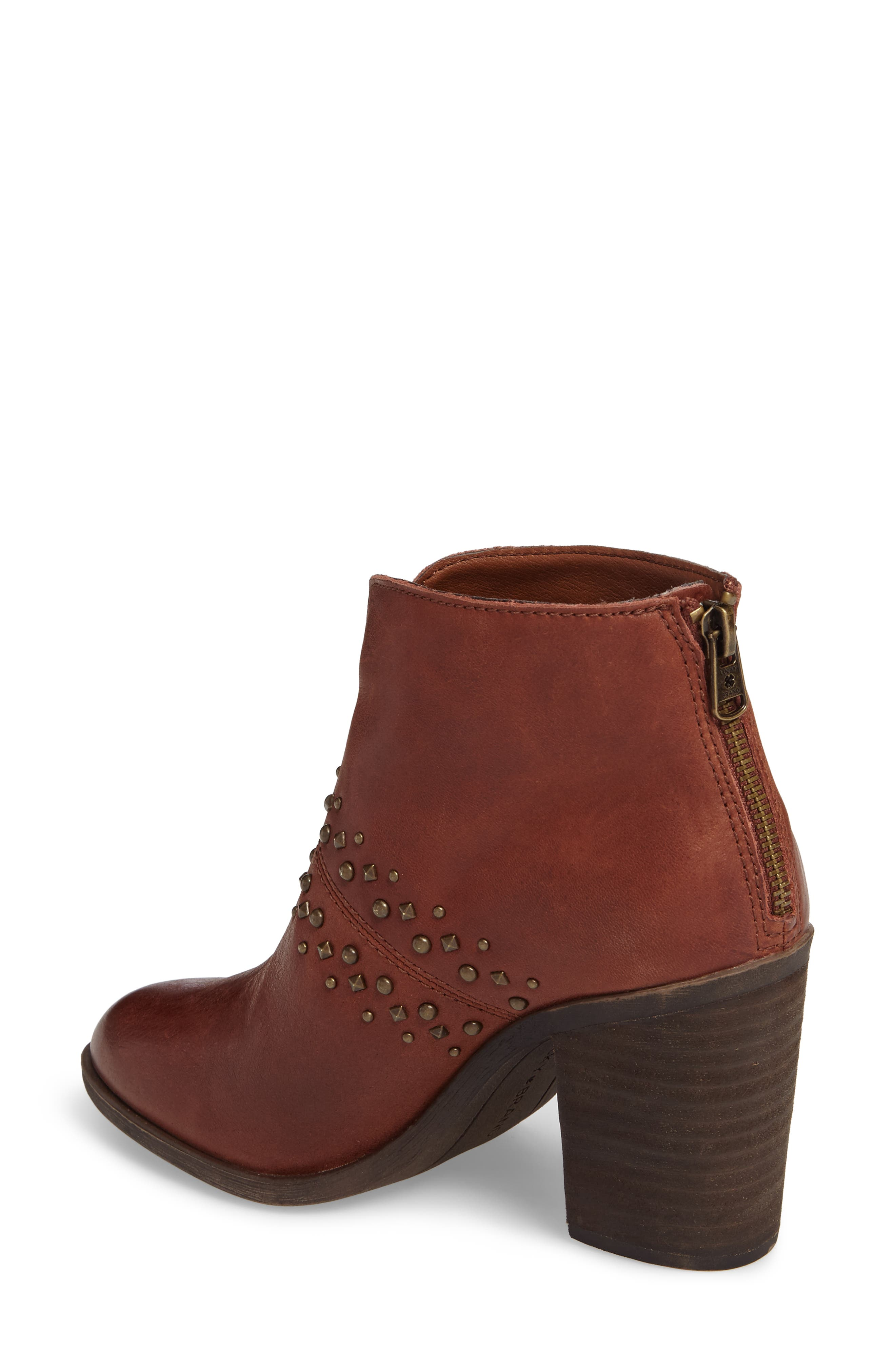 Sancha Studded Bootie,                             Alternate thumbnail 6, color,