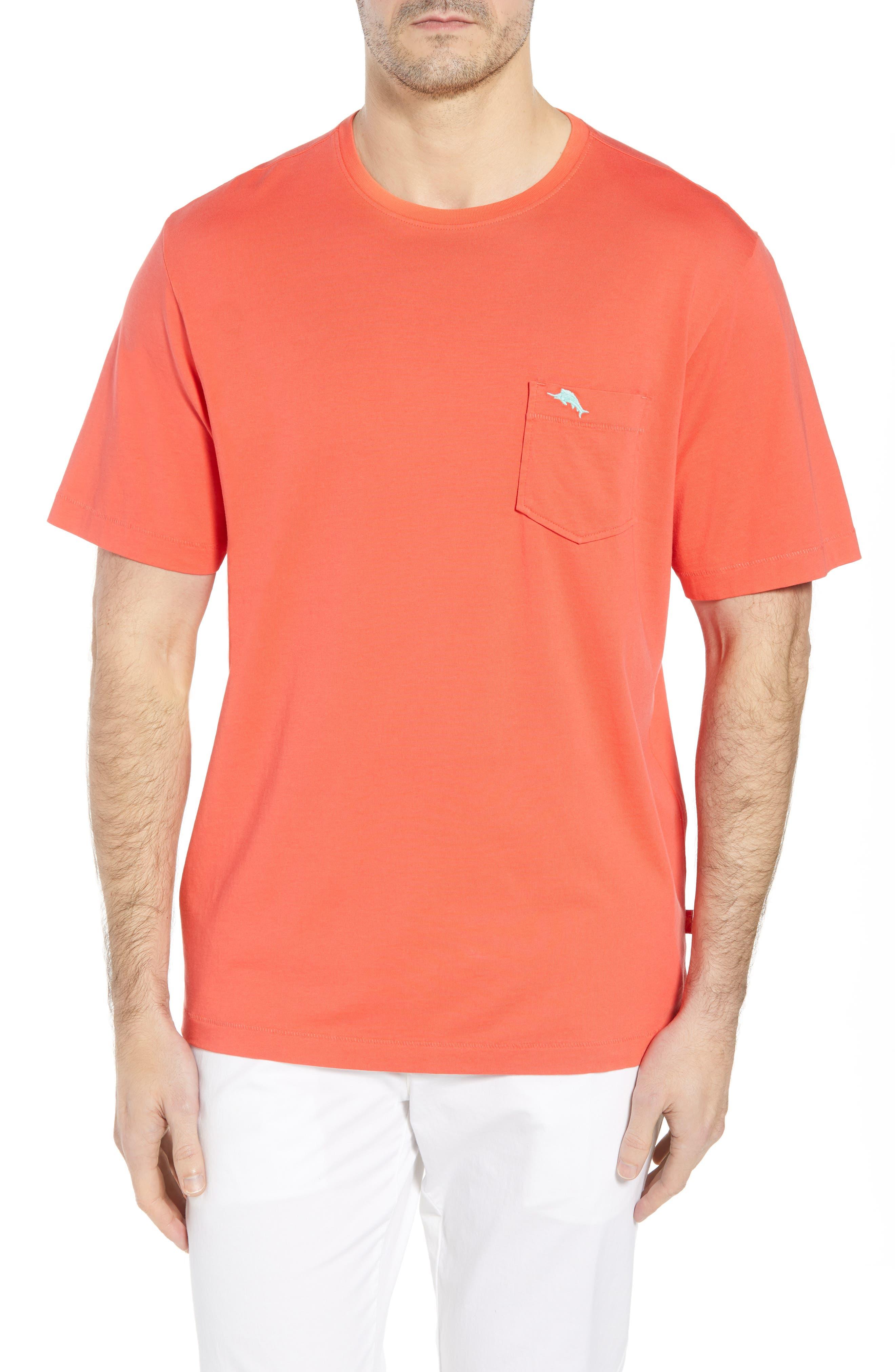 New Bali Sky Pima Cotton Pocket T-Shirt,                             Main thumbnail 4, color,