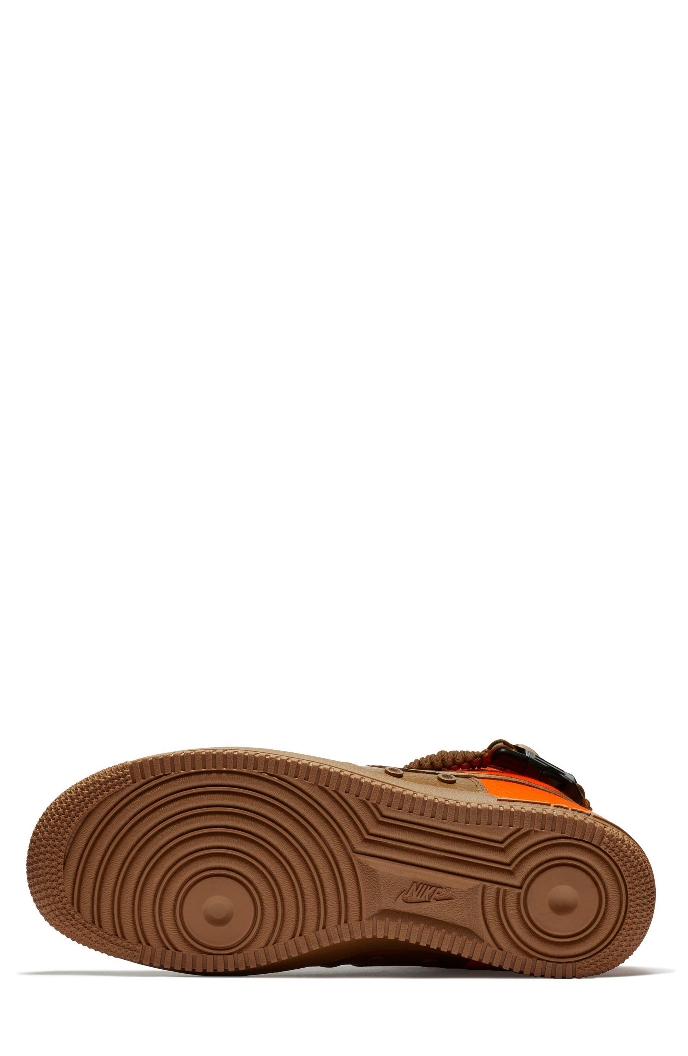 SF Air Force 1 QS High Top Sneaker,                             Alternate thumbnail 5, color,                             200