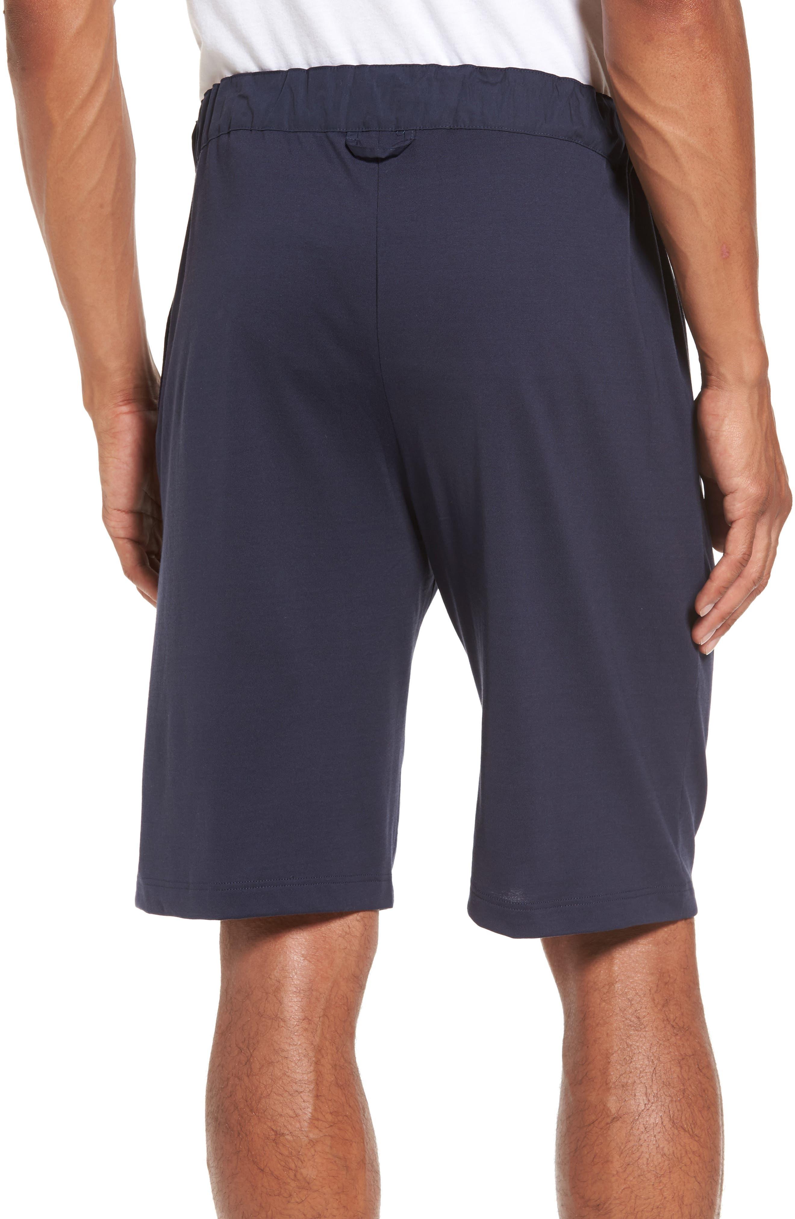 Night & Day Knit Shorts,                             Alternate thumbnail 2, color,                             BLACK IRIS
