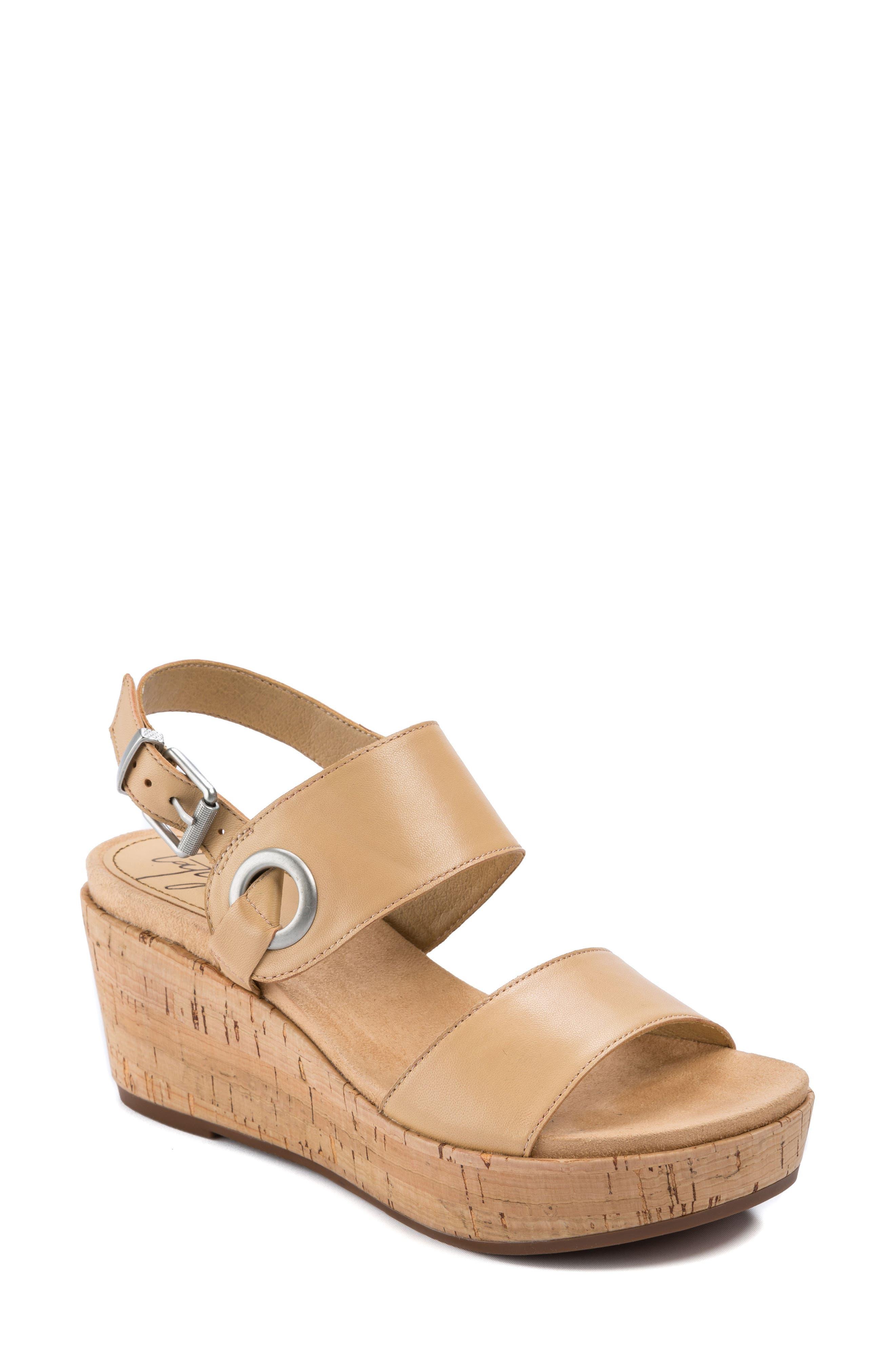 Lauren Platform Wedge Sandal,                             Main thumbnail 2, color,