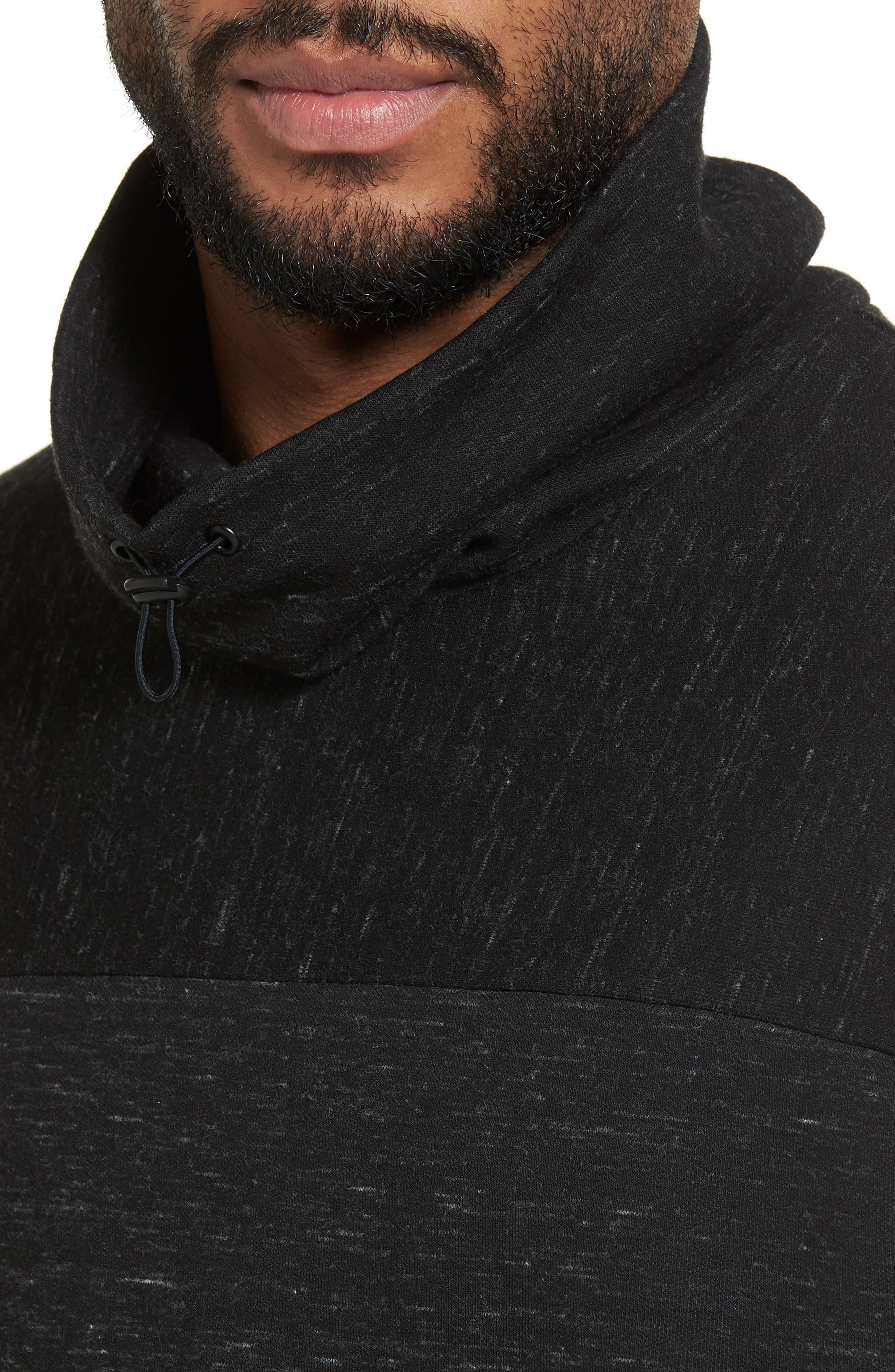 Space Dye Fleece Pullover,                             Alternate thumbnail 4, color,