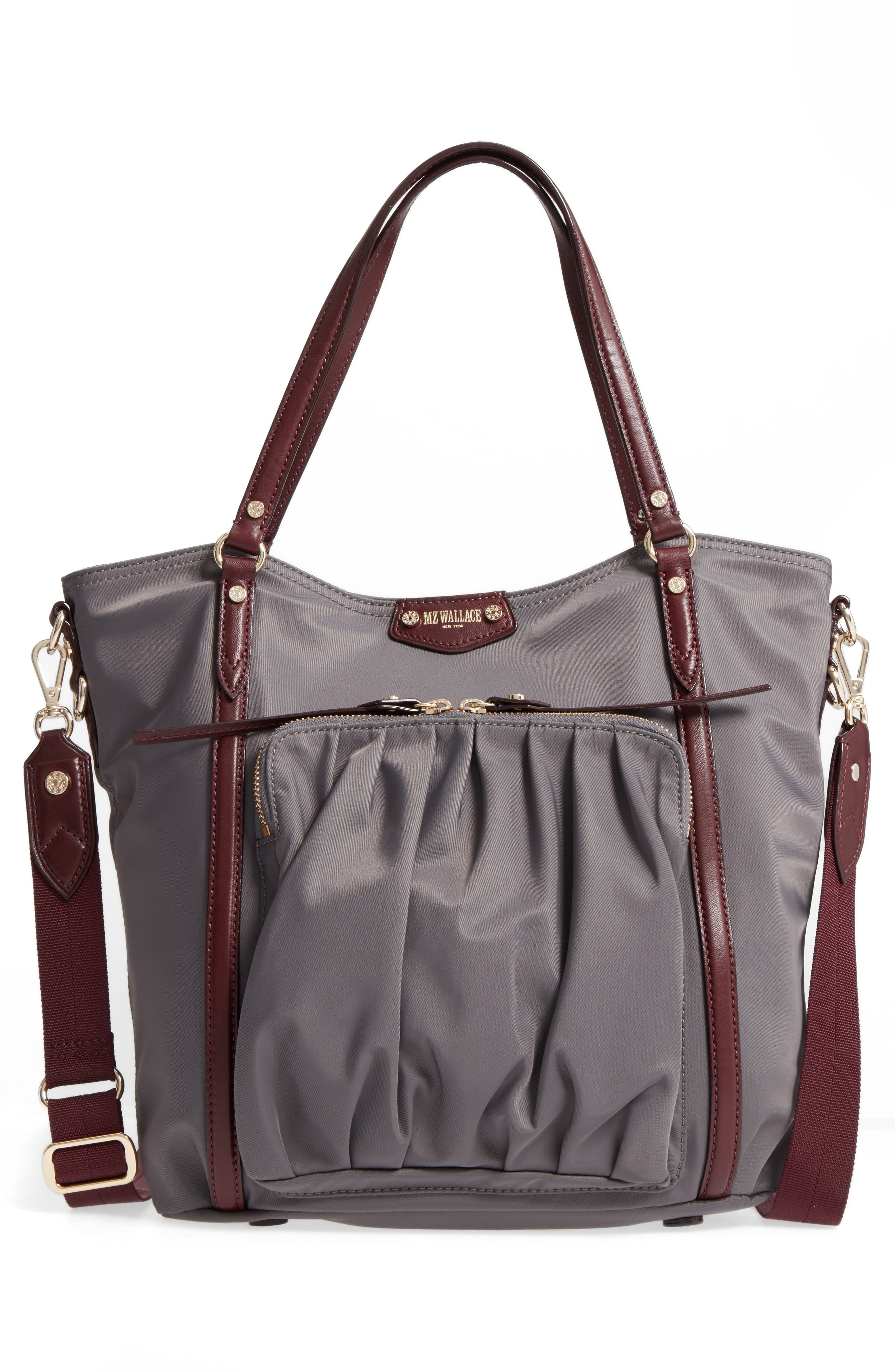 Nikki Nylon Satchel,                             Alternate thumbnail 3, color,                             023