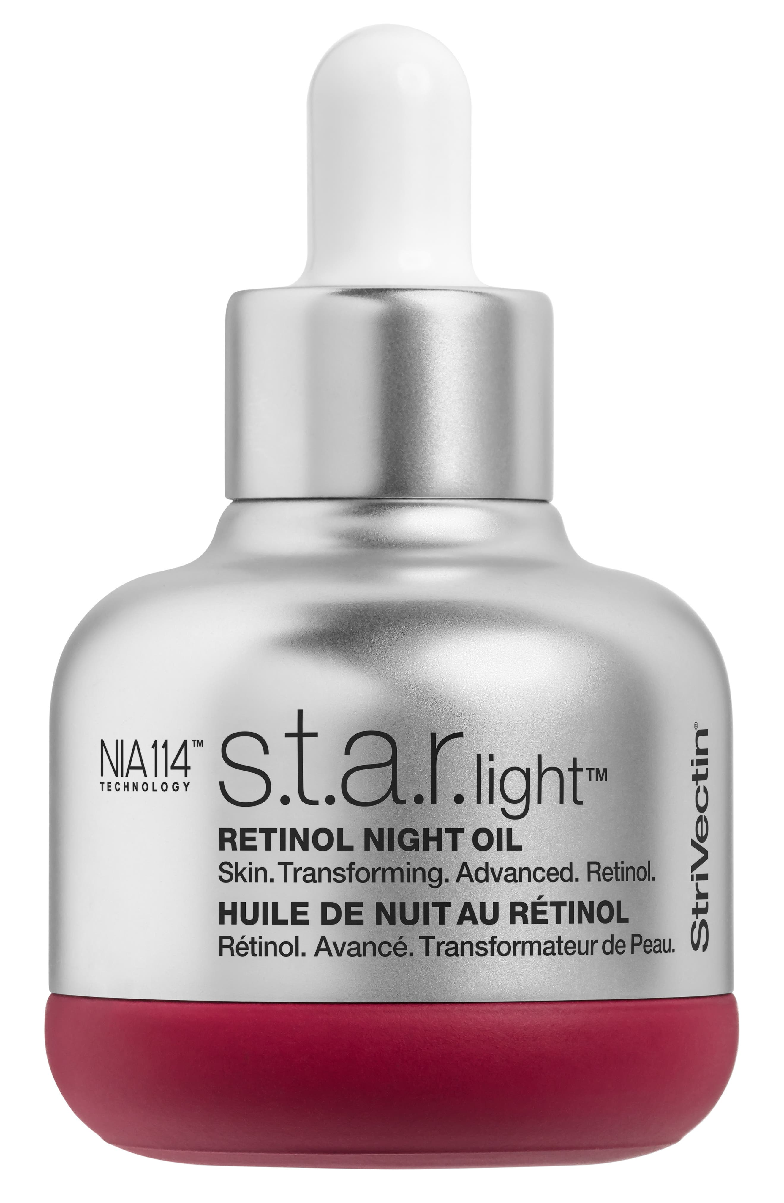 StriVectin STAR.light Retinol Night Oil,                             Main thumbnail 1, color,                             NO COLOR