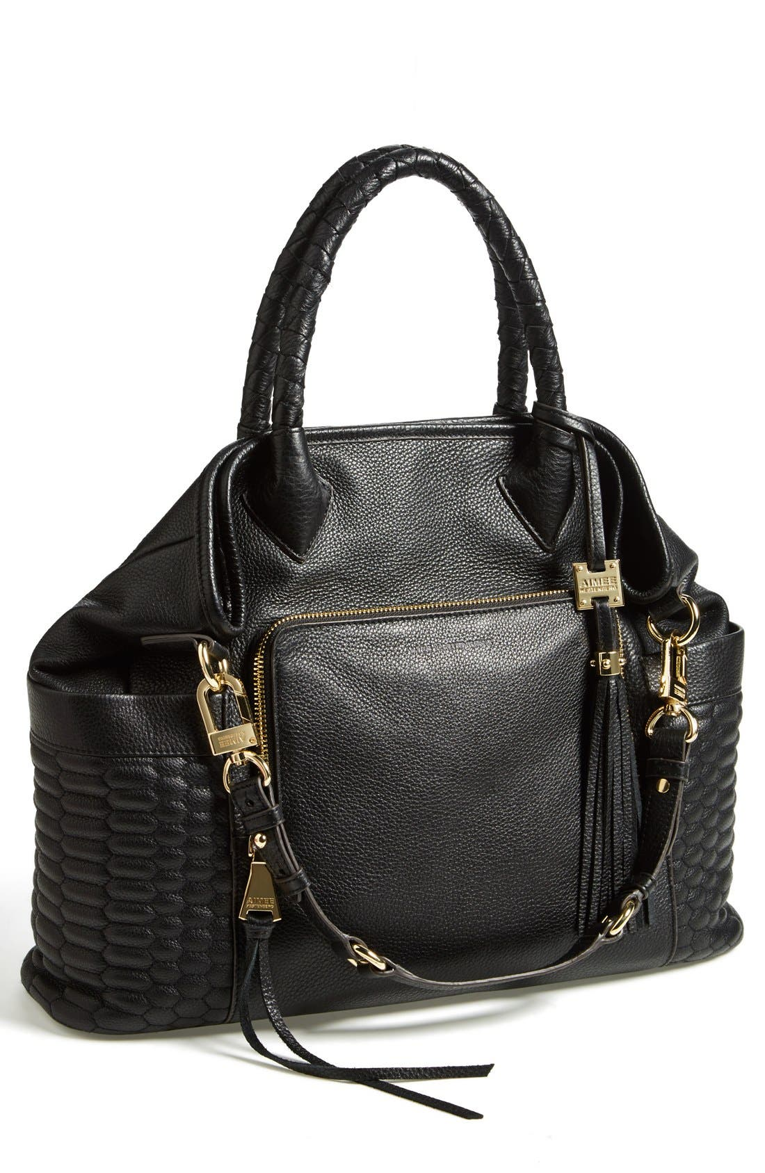 'Maria' Convertible Shoulder Tote,                         Main,                         color, 001
