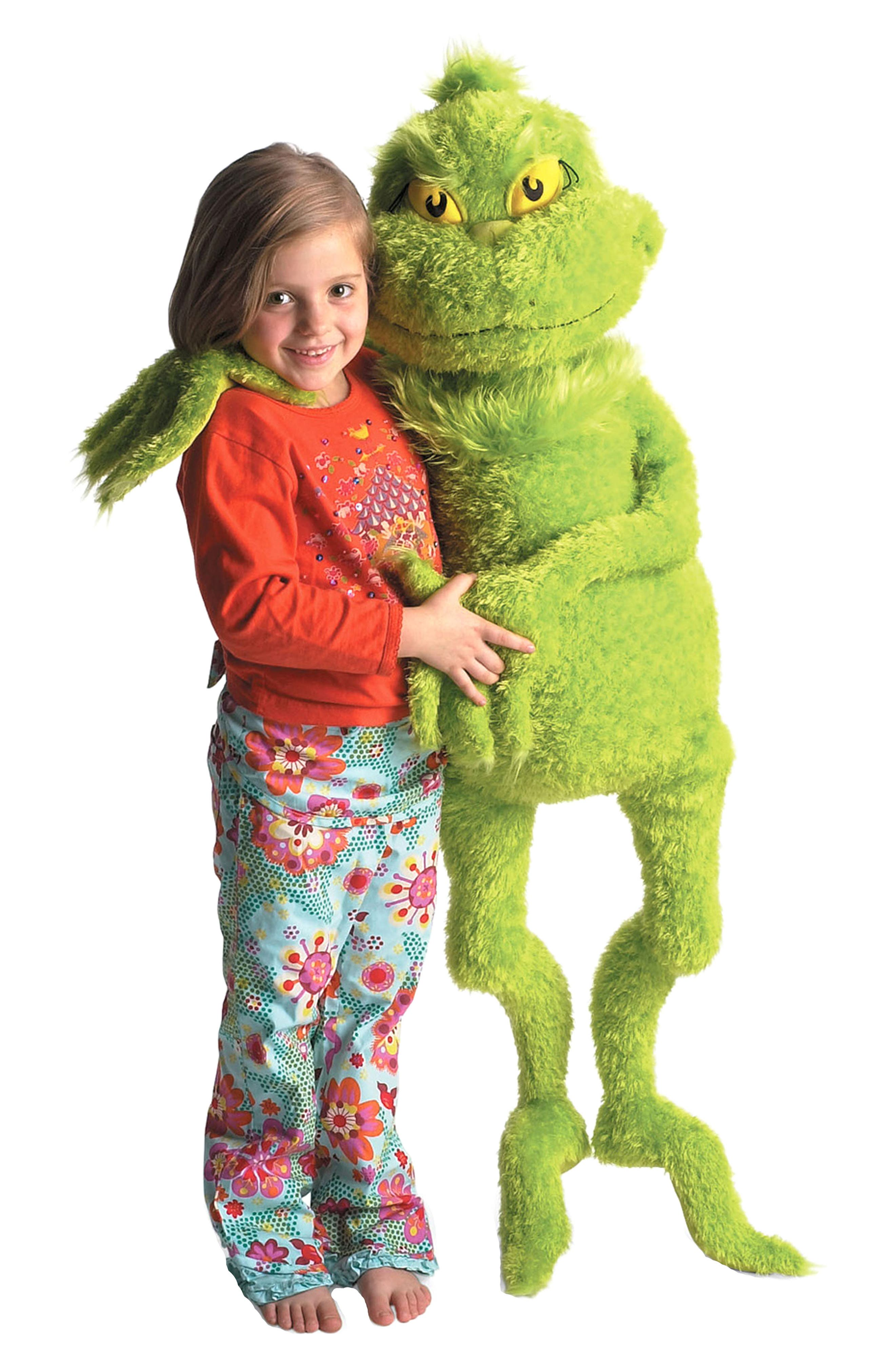 Dr. Seuss -The Grinch Stuffed Toy,                             Alternate thumbnail 2, color,                             300