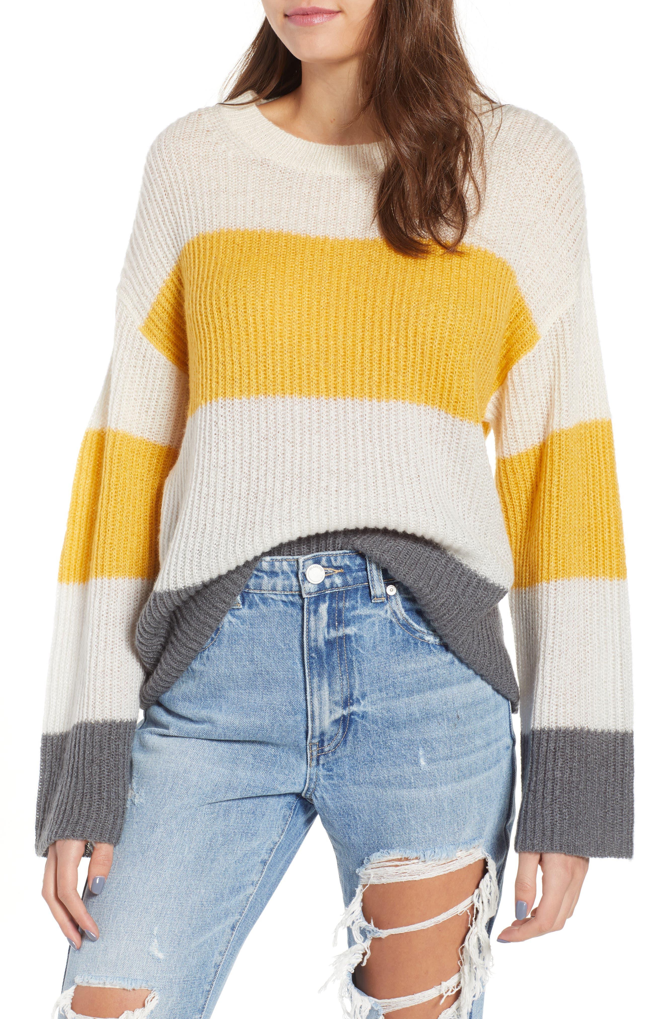 Stripe Pullover,                             Main thumbnail 1, color,                             900