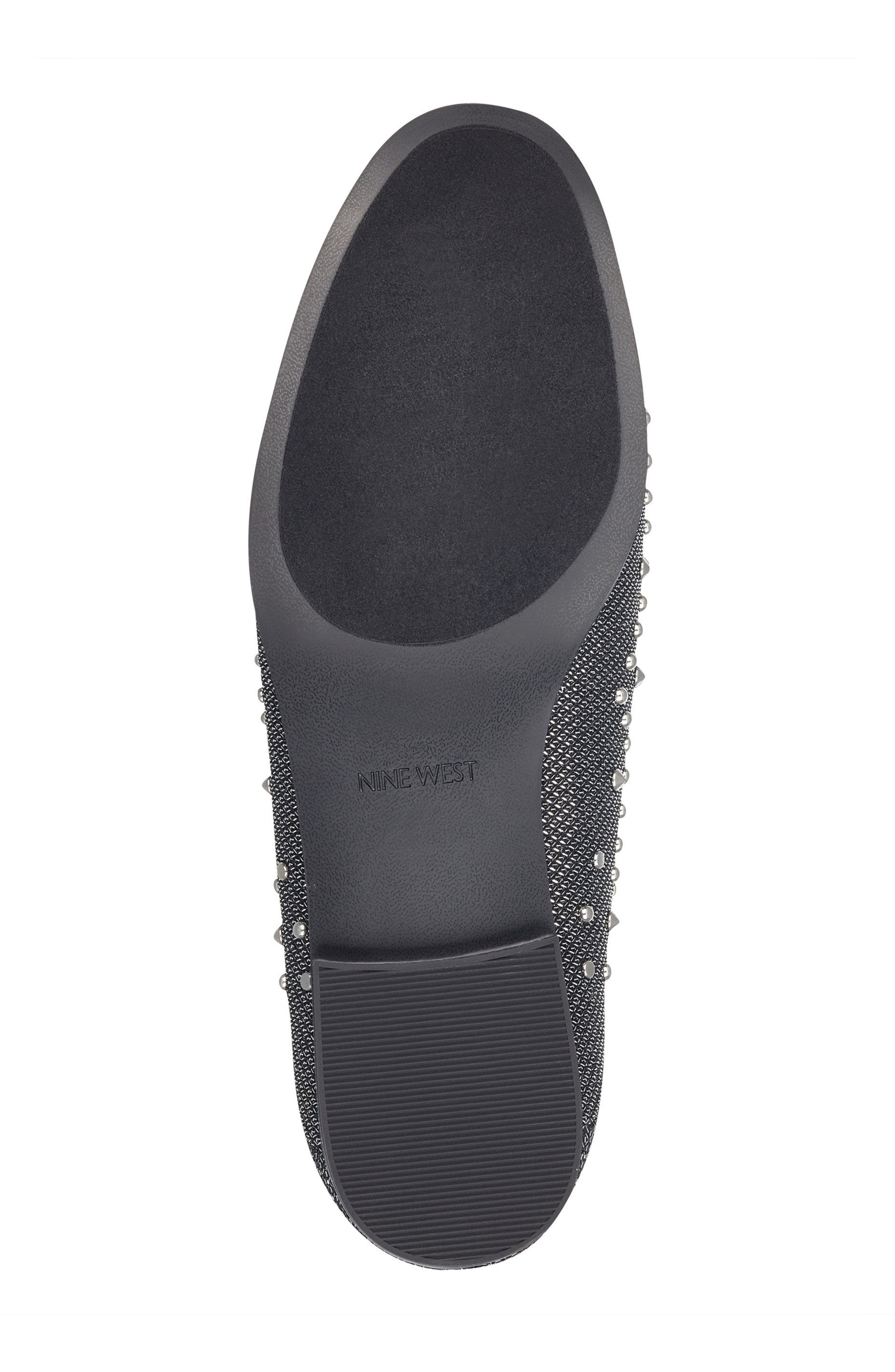 Westoy Studded Loafer,                             Alternate thumbnail 6, color,                             001