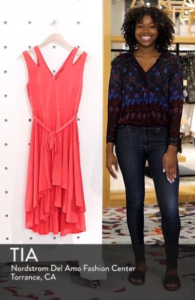 Split Shoulder High/Low Dress, sales video thumbnail