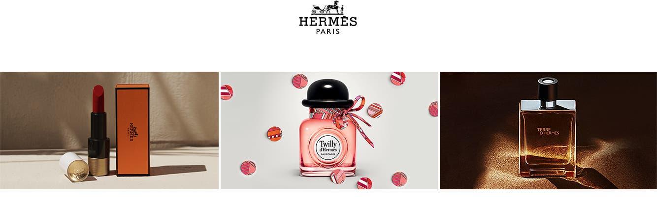 Hermès Paris: makeup, fragrance and cologne.