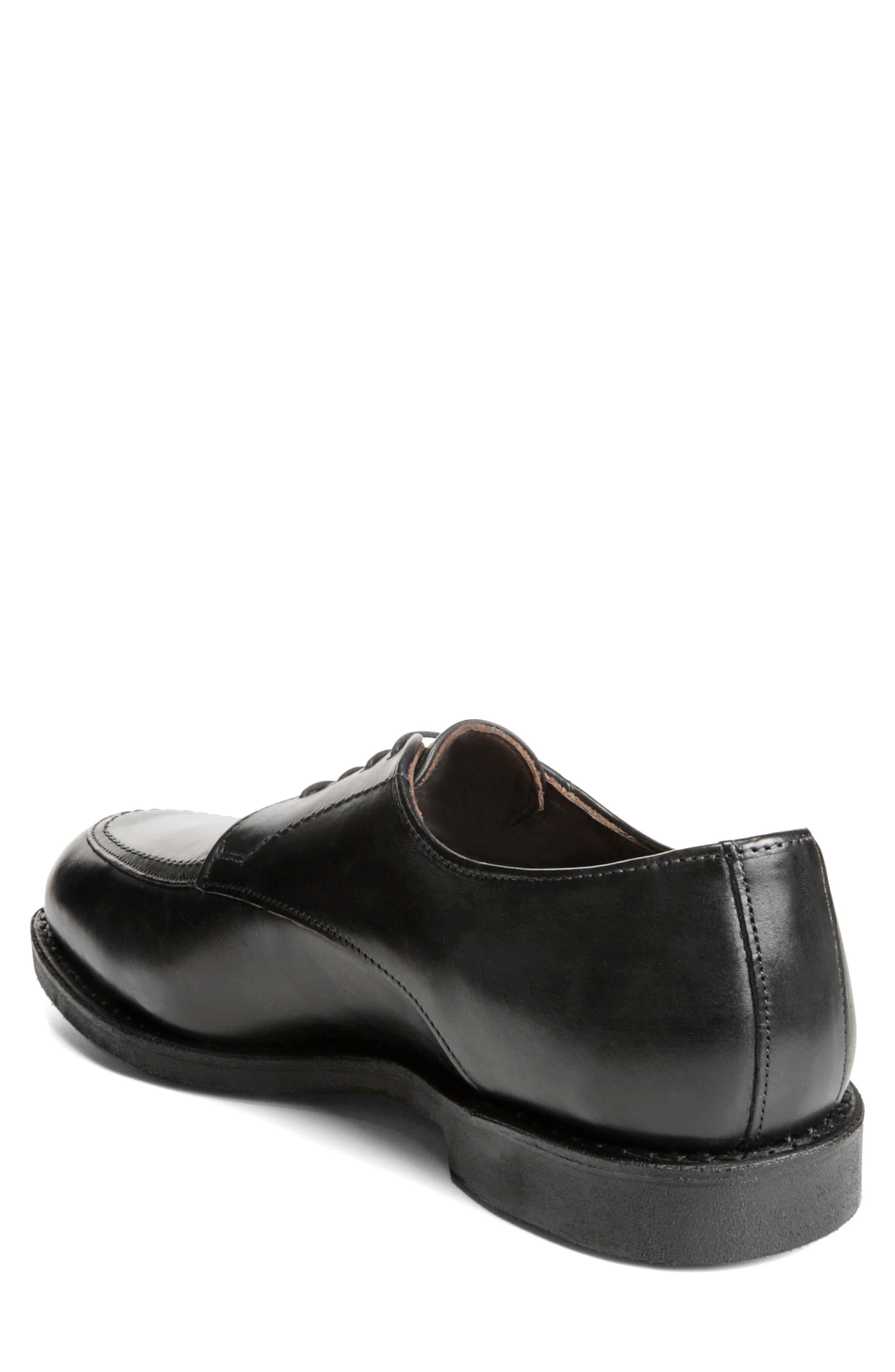 ALLEN EDMONDS,                             MSP Split Toe Derby,                             Alternate thumbnail 2, color,                             BLACK LEATHER