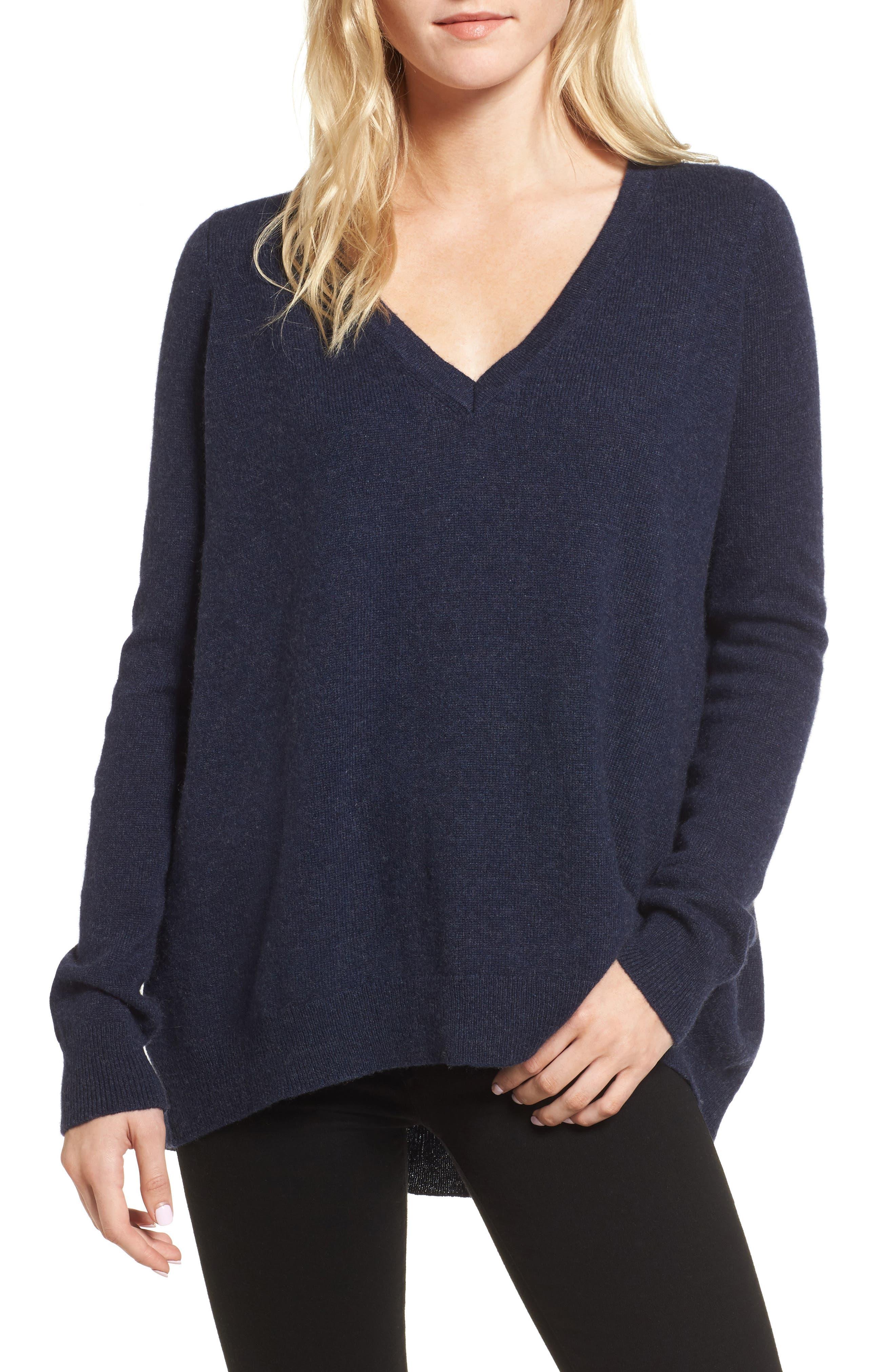 Danielle Cashmere Sweater,                             Main thumbnail 1, color,                             410