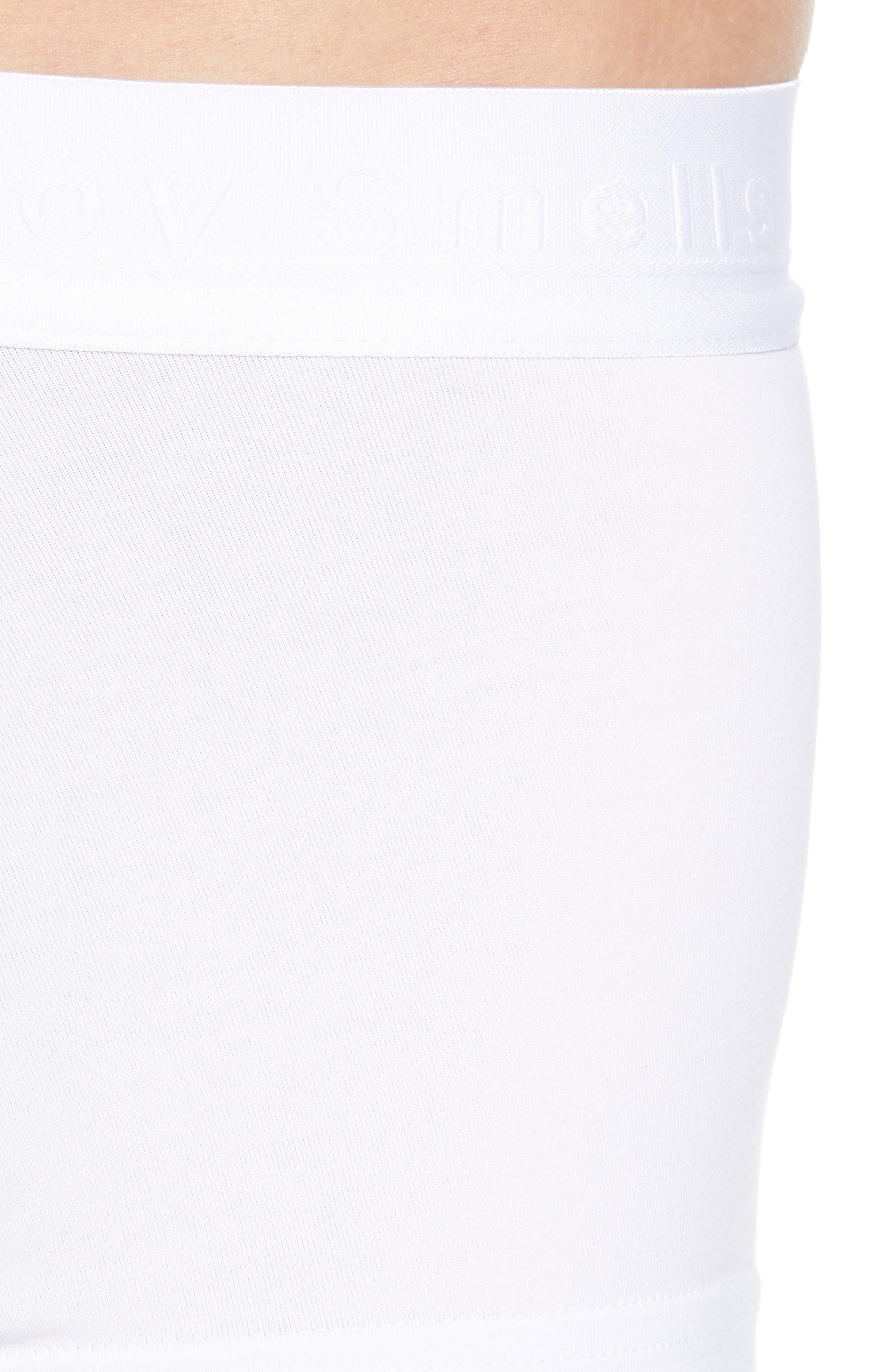 Men's Boxer Briefs,                             Alternate thumbnail 5, color,                             WHITE
