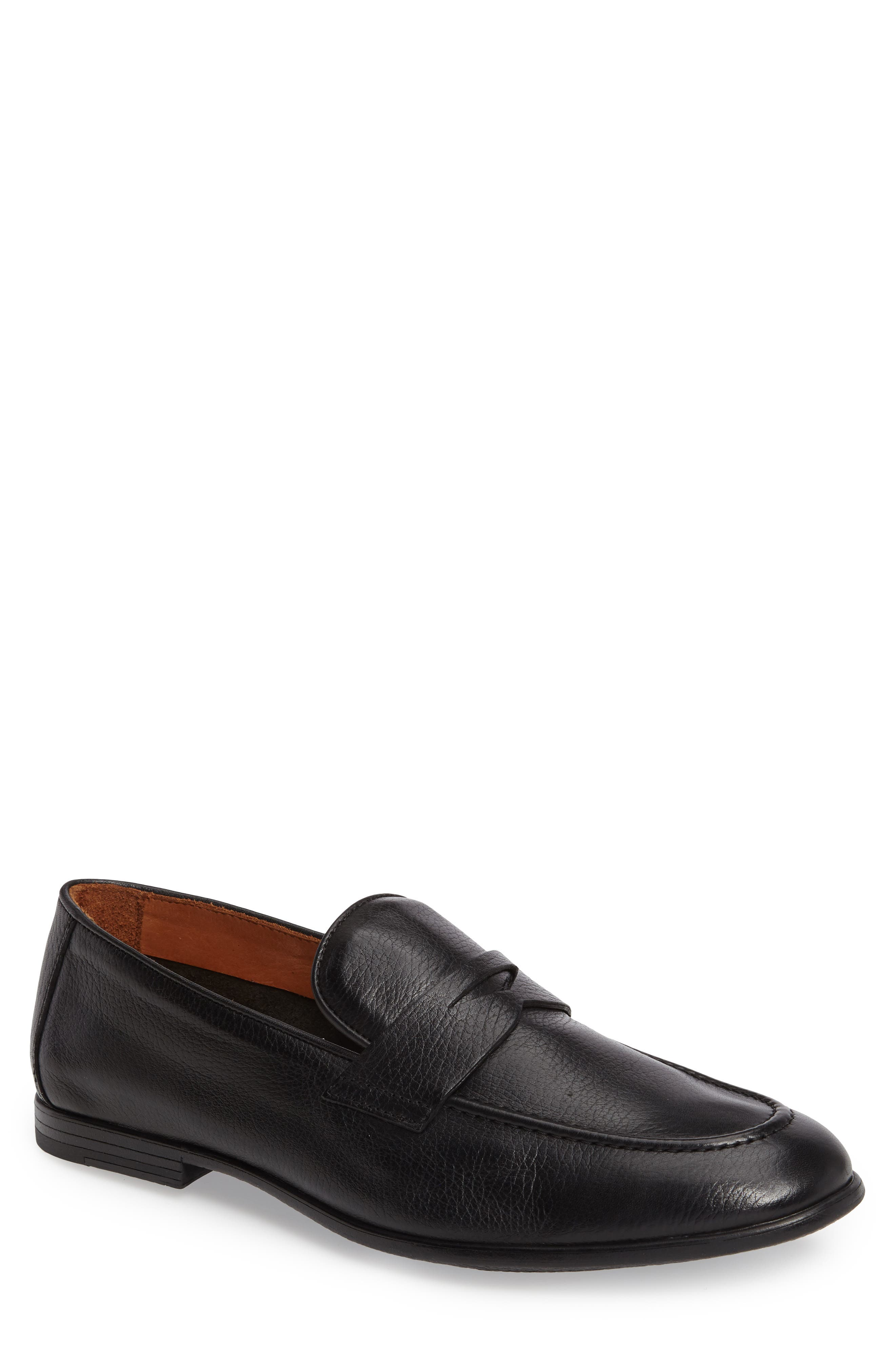 Dillon Penny Loafer,                             Main thumbnail 1, color,                             001
