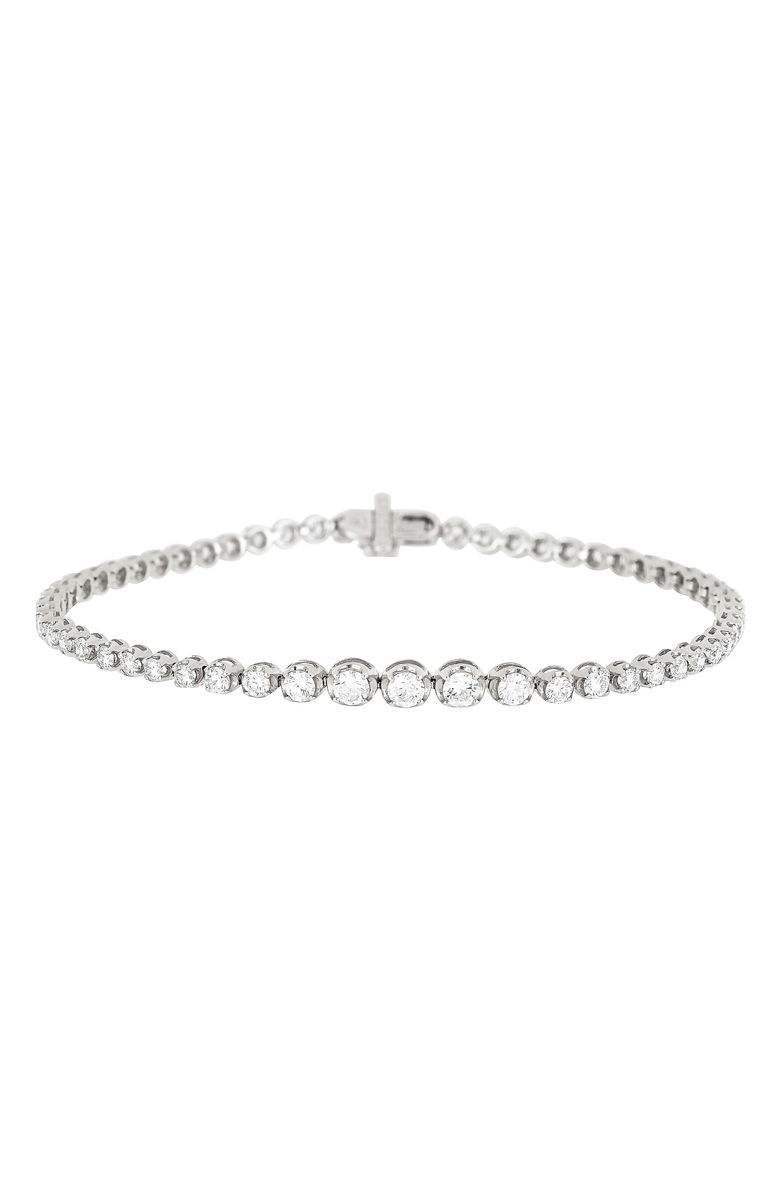 Liora Diamond Tennis Bracelet,                             Alternate thumbnail 2, color,                             711