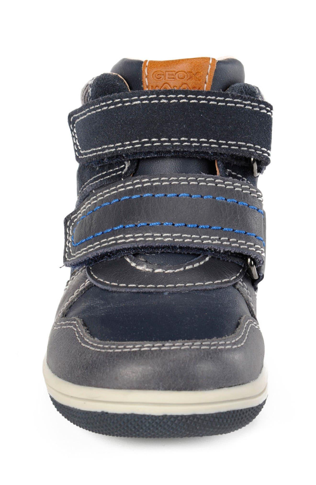 New Flick Mid Top Sneaker,                             Alternate thumbnail 4, color,                             002
