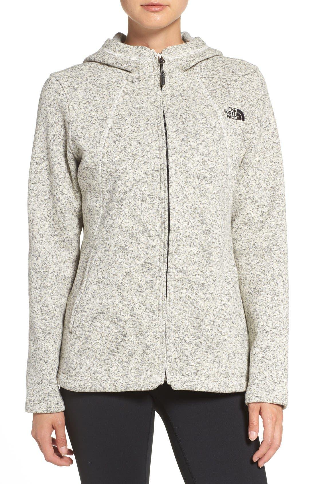 'Crescent' Fleece Jacket,                             Main thumbnail 9, color,
