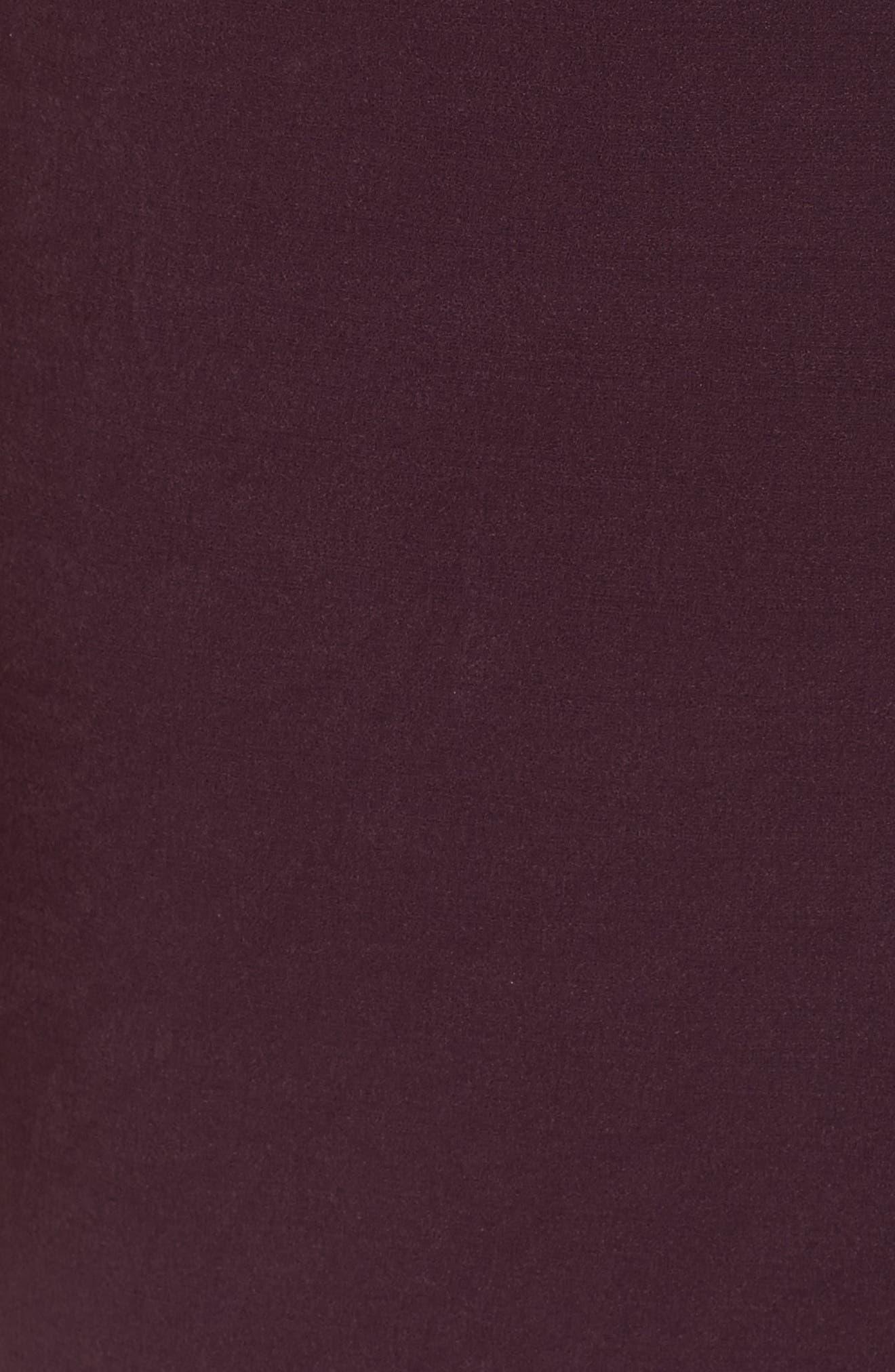 Don't Stop Midi Dress,                             Alternate thumbnail 5, color,