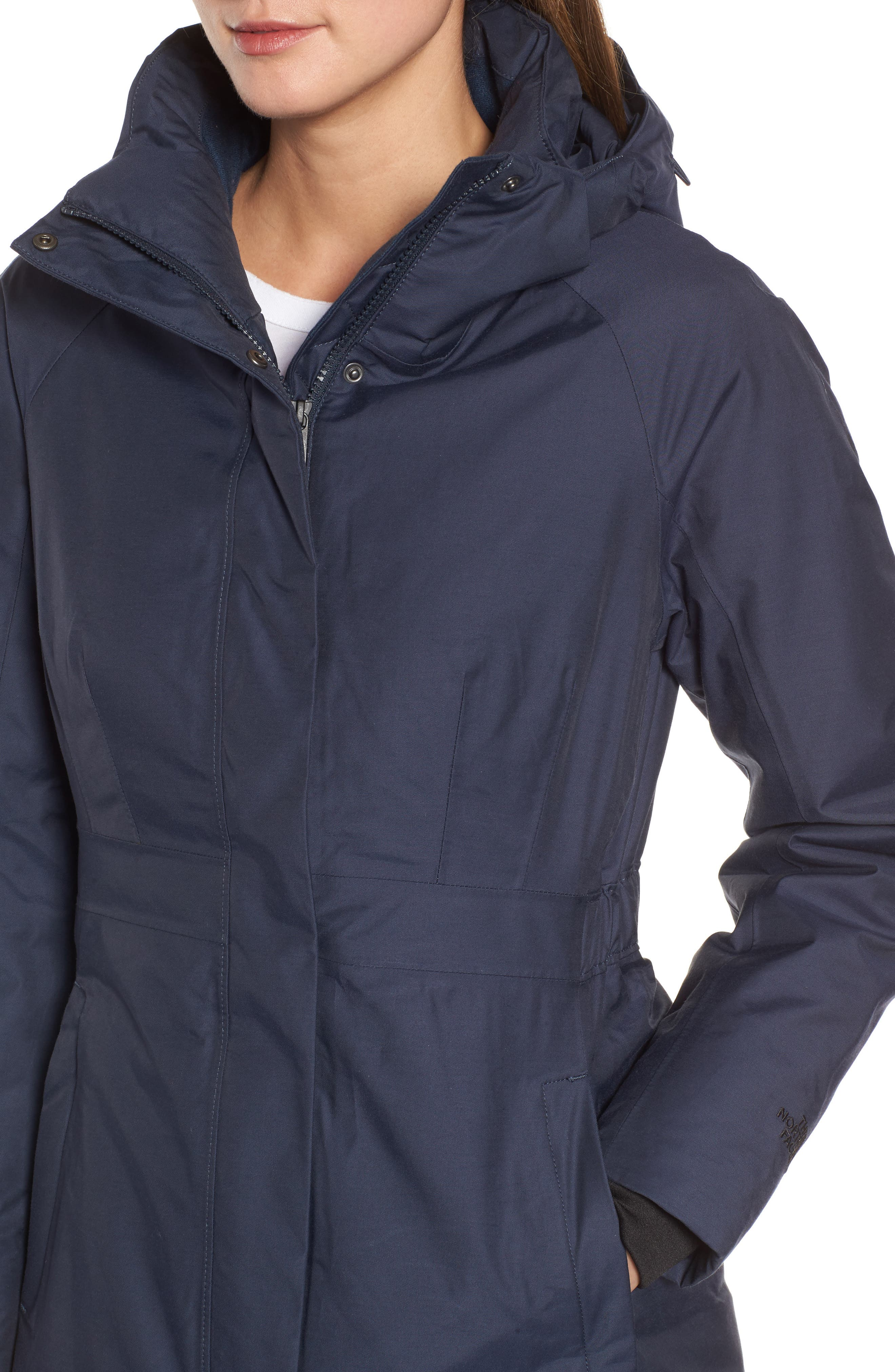 Arctic II Waterproof 550-Fill-Power Down Parka with Faux Fur Trim,                             Alternate thumbnail 17, color,