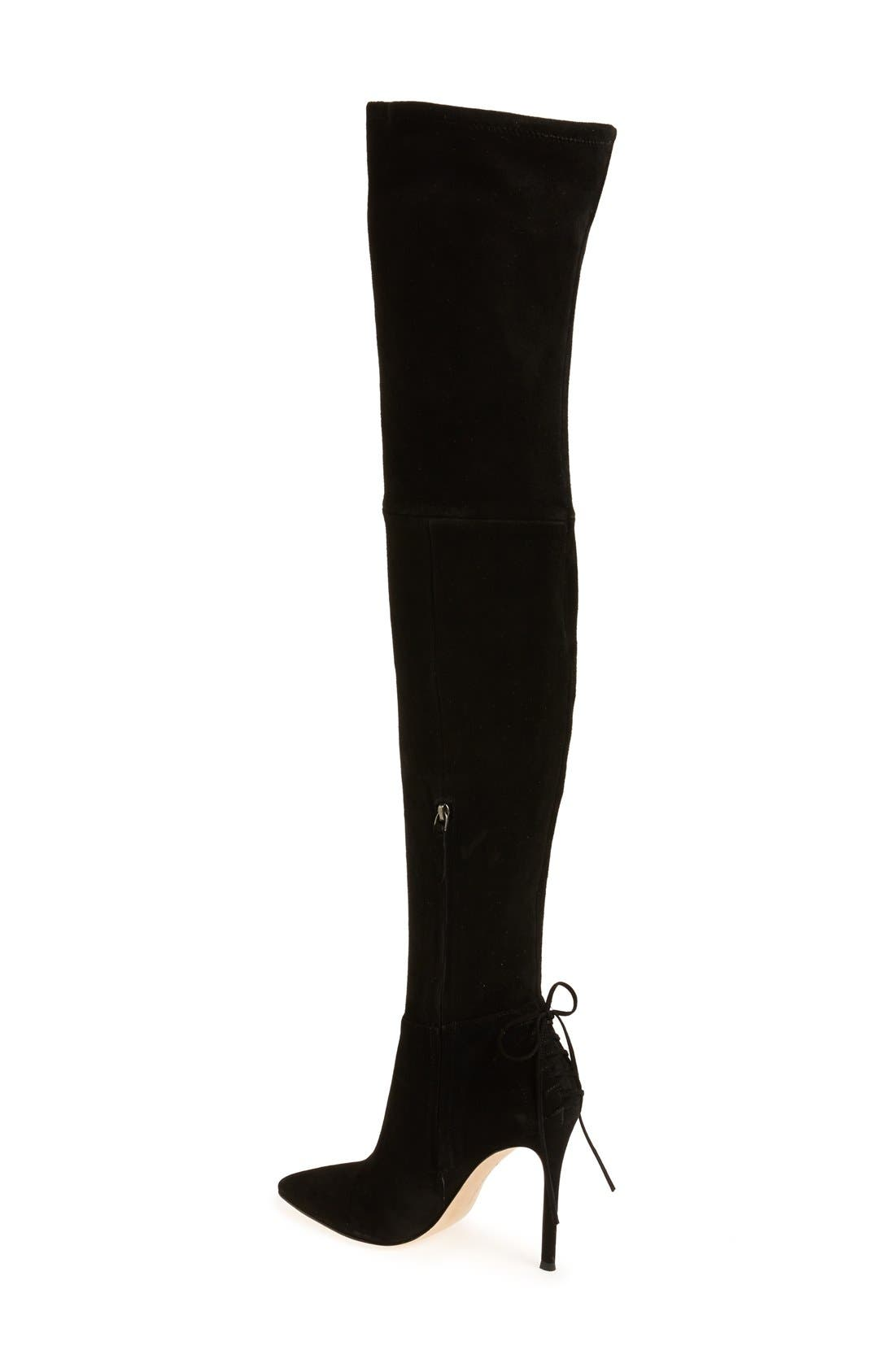 'Caterina' Over the Knee Boot,                             Alternate thumbnail 8, color,