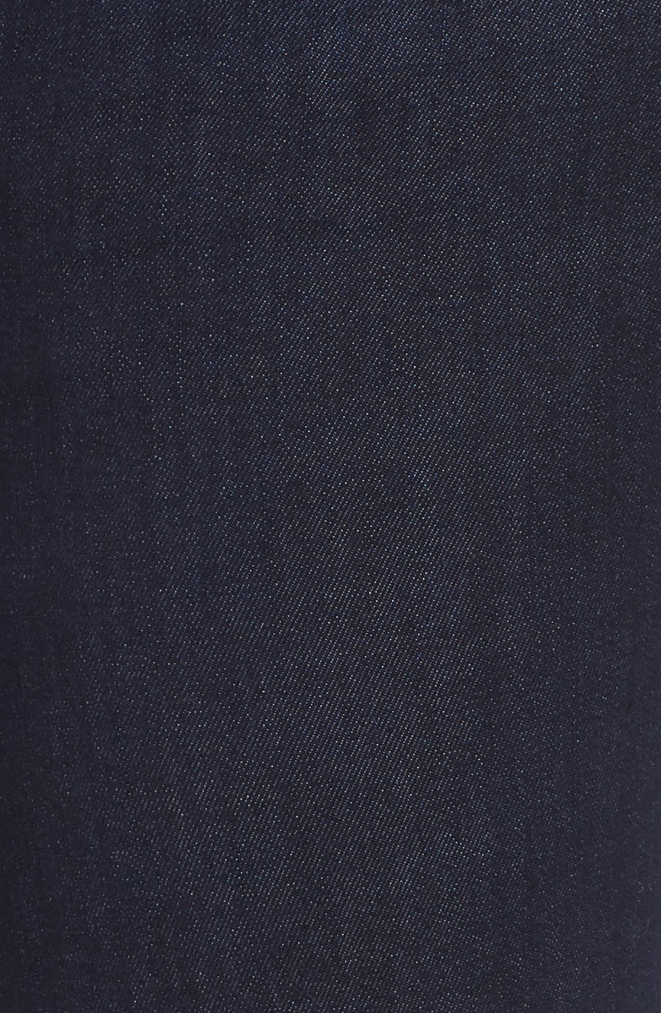 Ab-Solution Side Trim Ankle Jeans,                             Alternate thumbnail 6, color,                             INDIGO